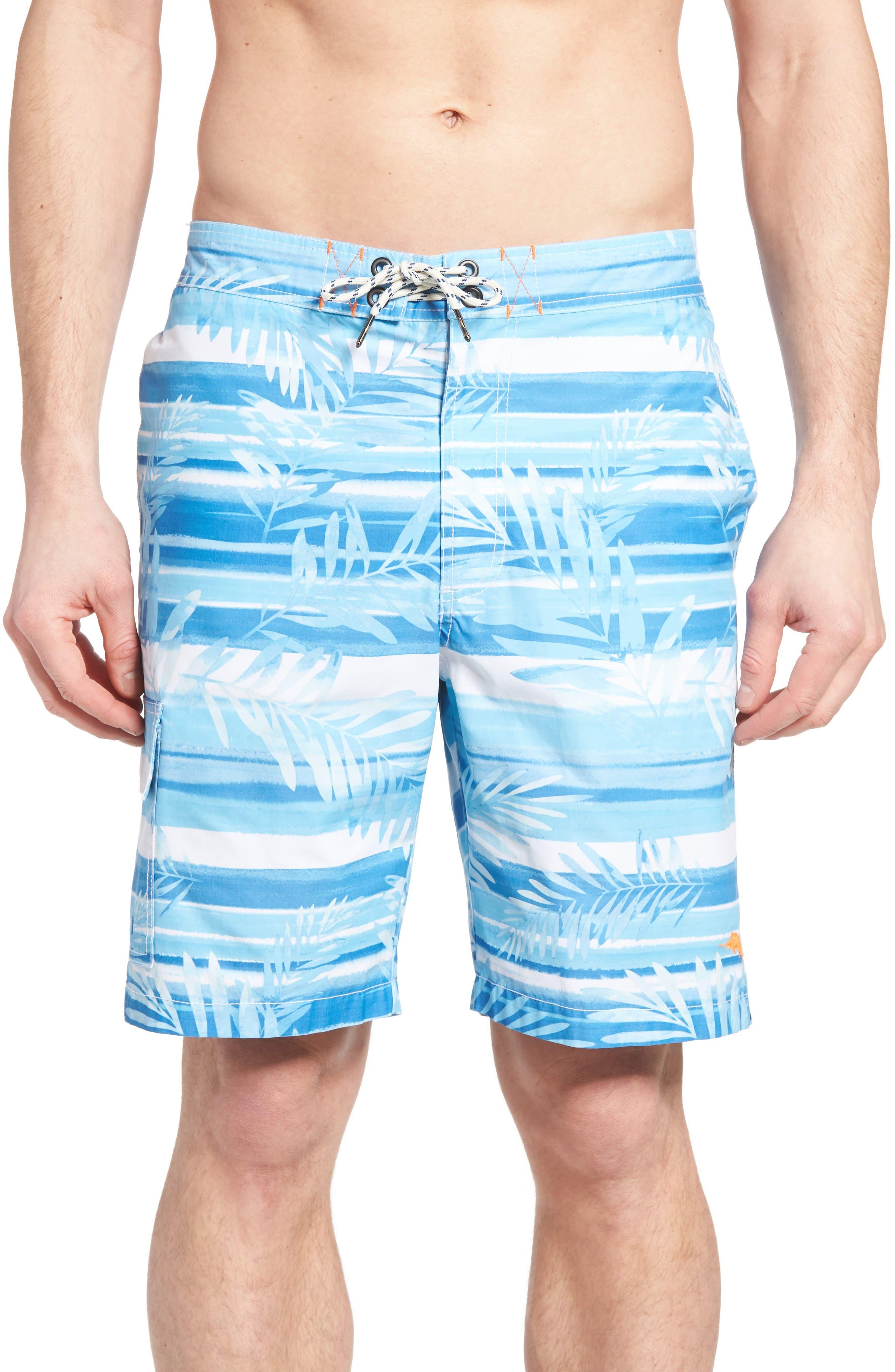 Tommy Bahama Baja Leaf on the Water Board Shorts (Big & Tall)