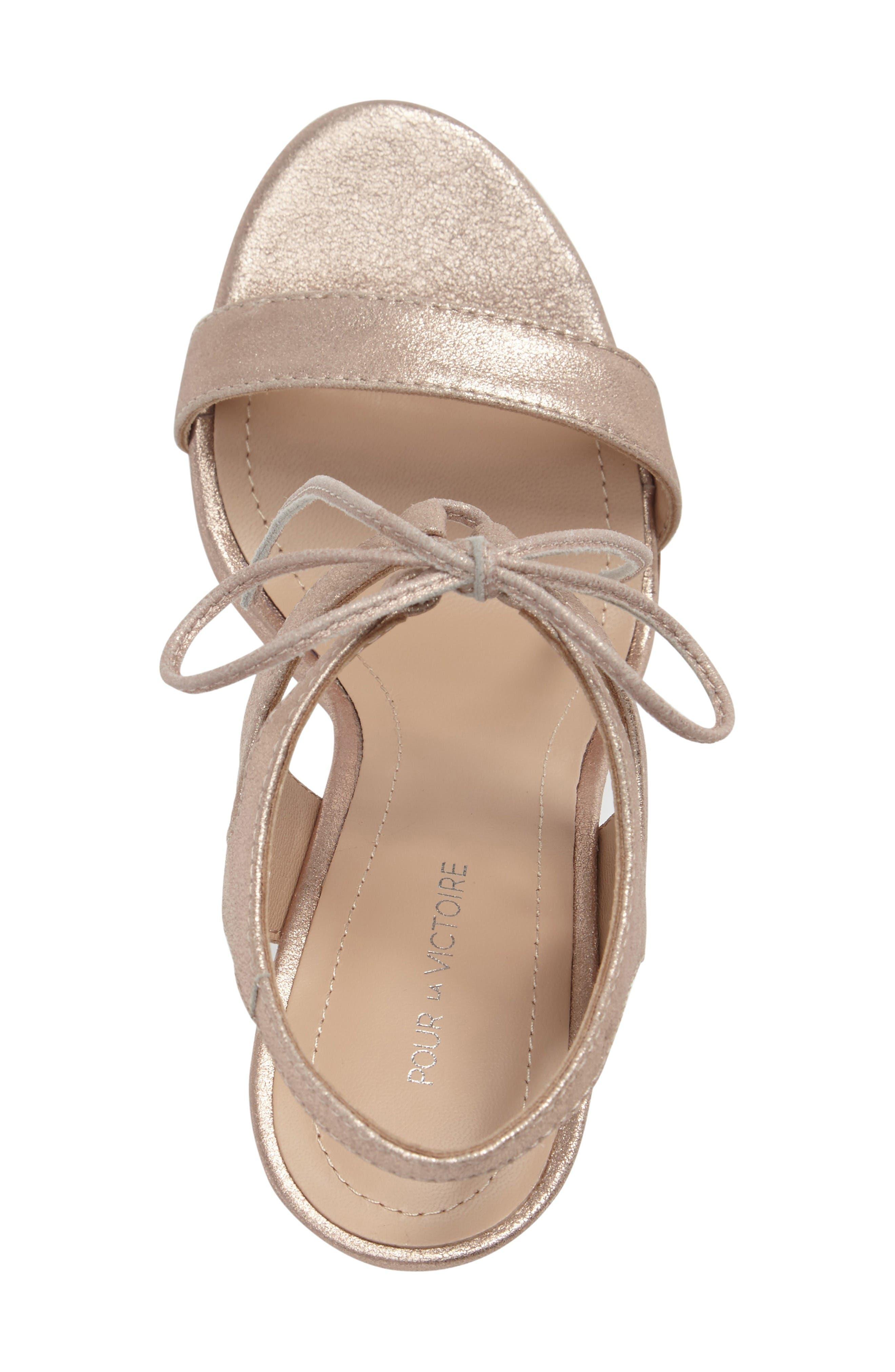 Alternate Image 3  - Pour la Victorie 'Elisa' Sandal (Women)