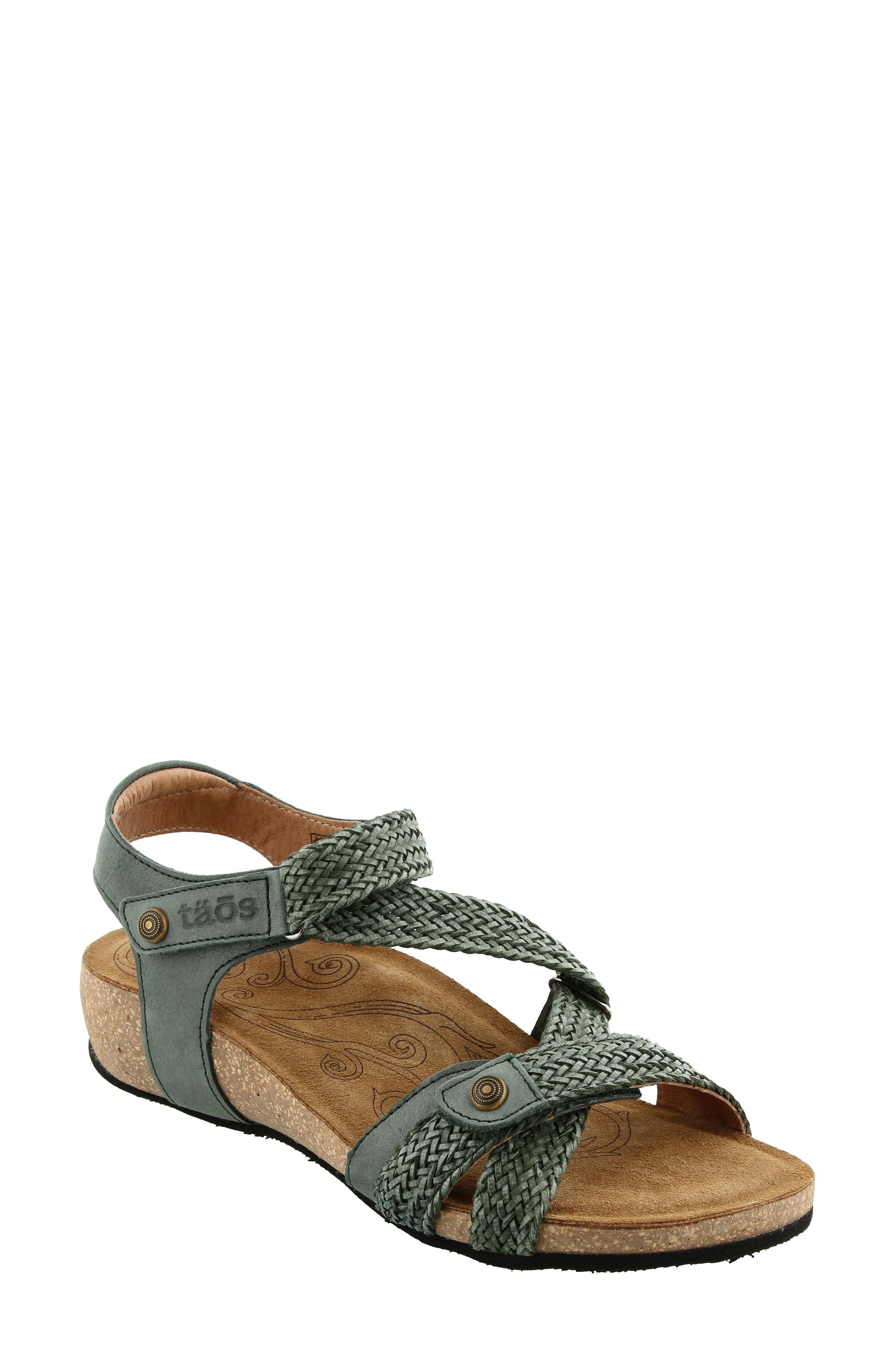 Taos 'Trulie' Wedge Sandal (Women)