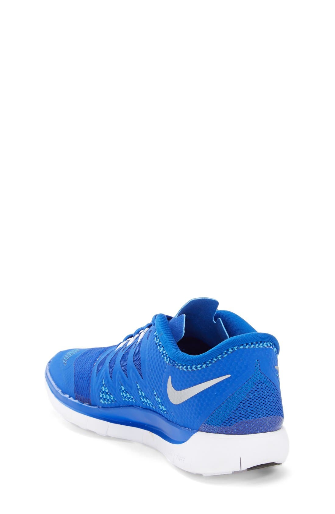 Alternate Image 2  - Nike 'Free 5.0' Running Shoe (Big Kids)