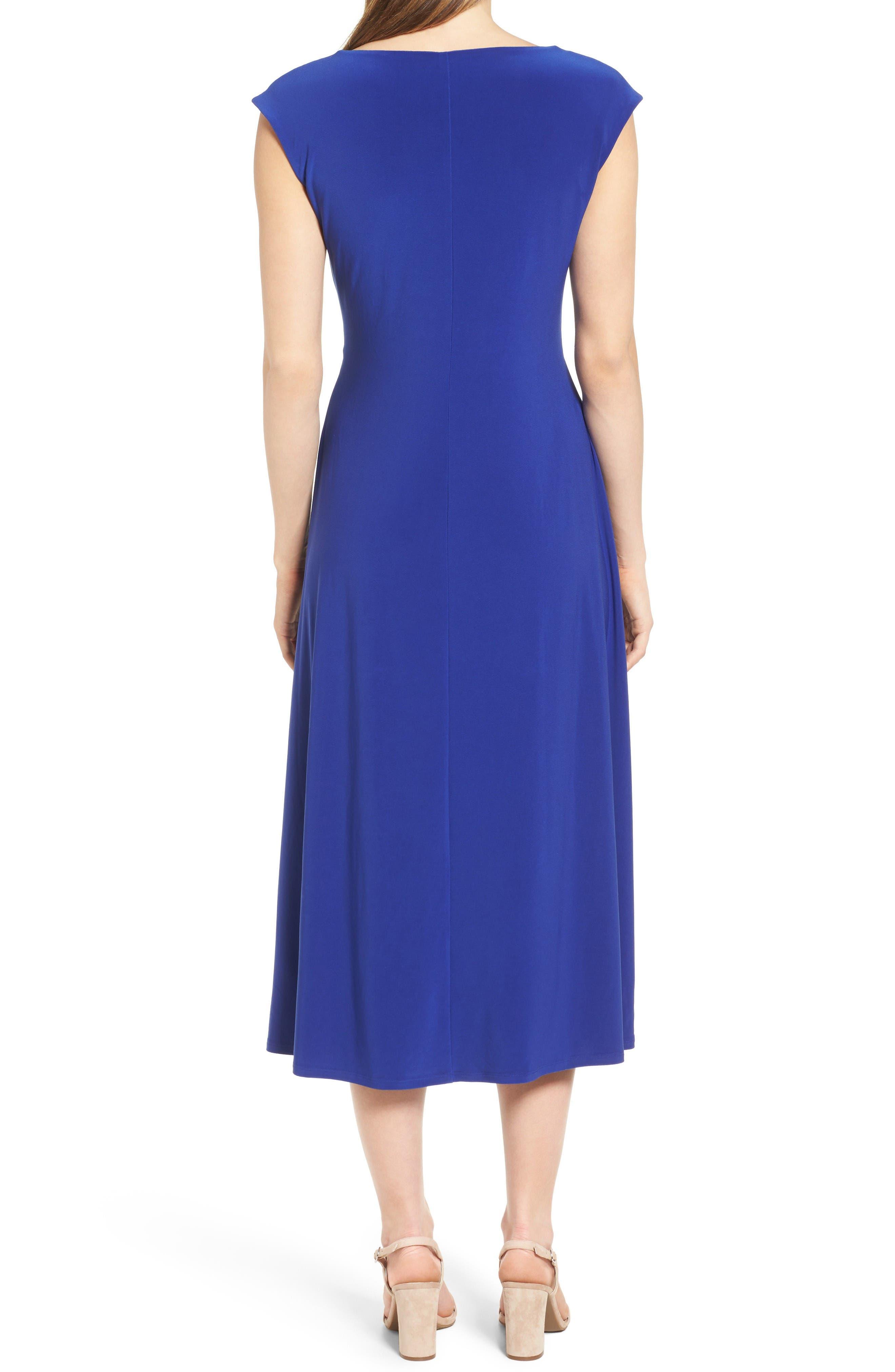 Alternate Image 2  - Chaus Faux Wrap Midi Dress