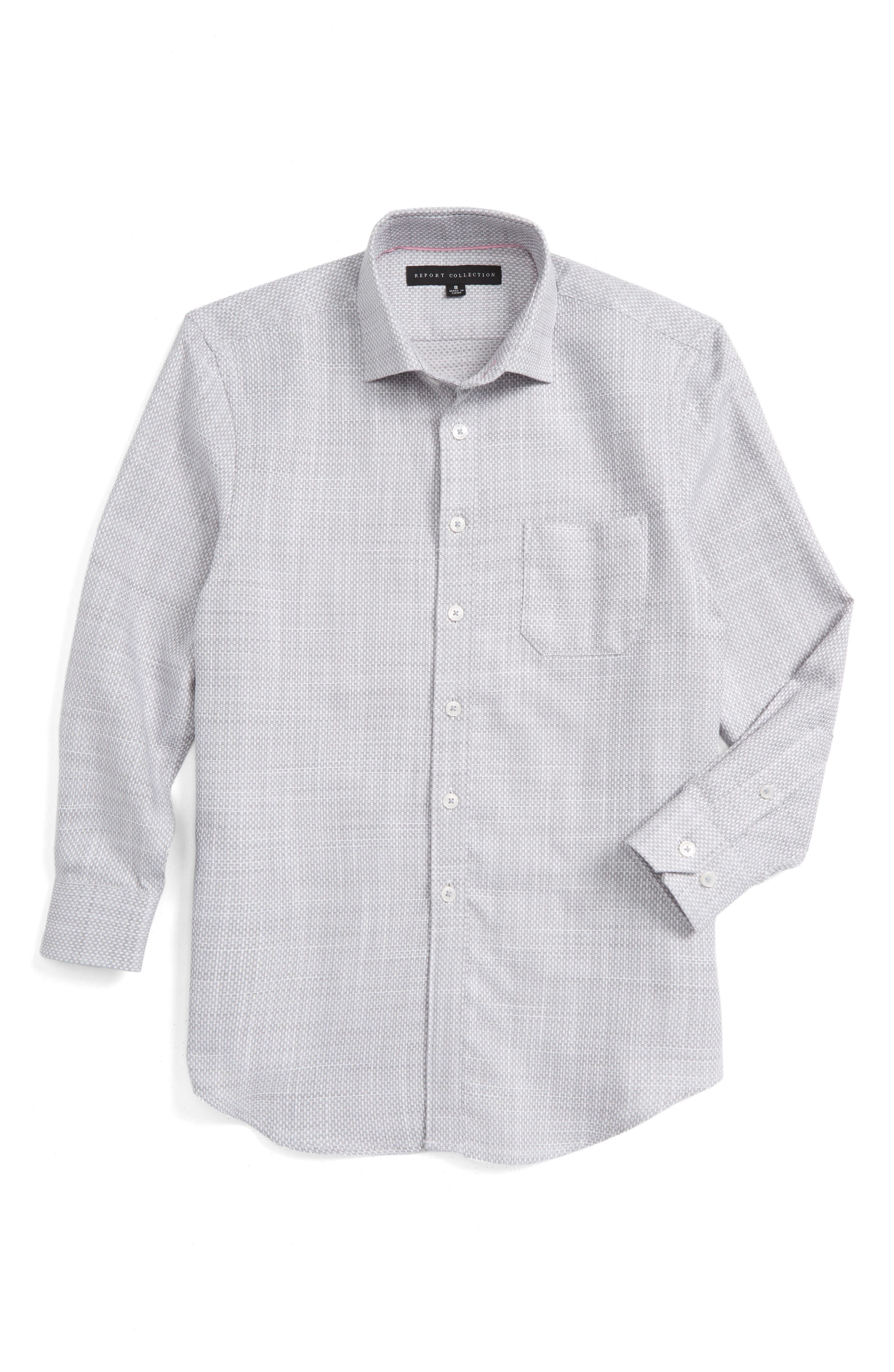 REPORT COLLECTION Woven Dress Shirt