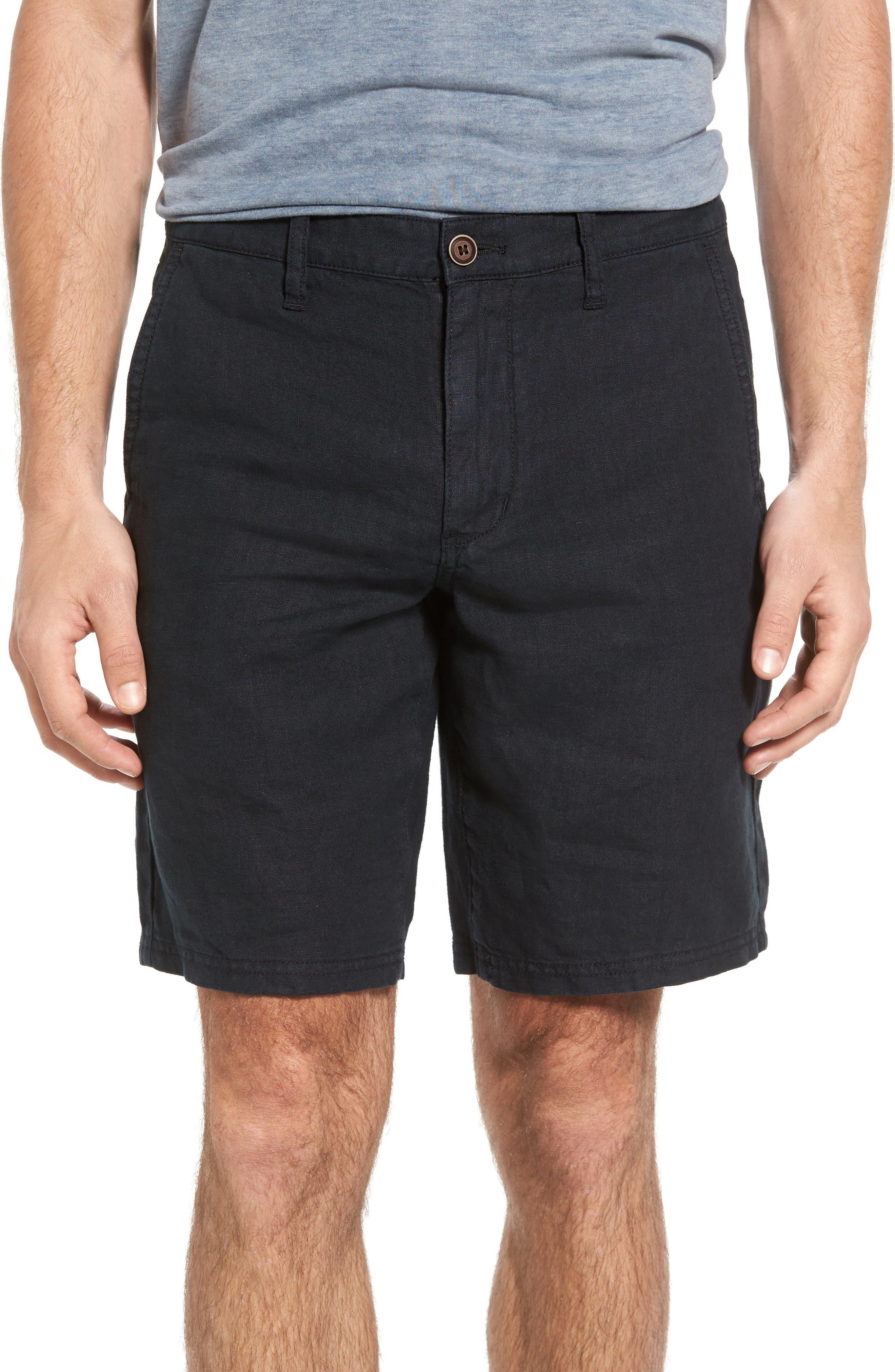 John Varvatos Star USA Linen Shorts