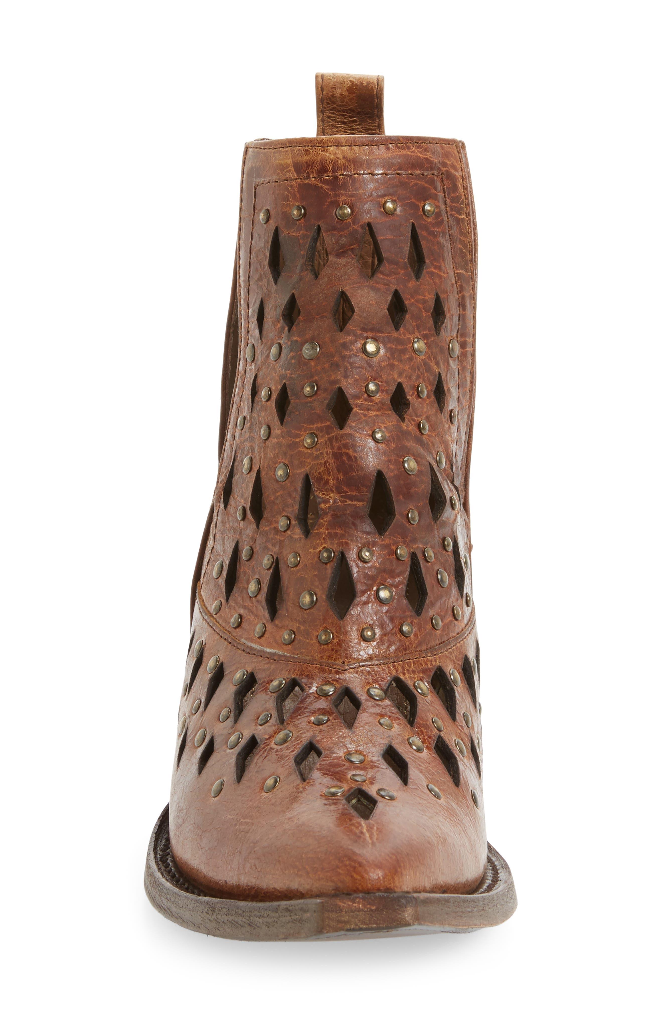 Alternate Image 3  - Ariat Chiquita Studded Cutout Bootie (Women)
