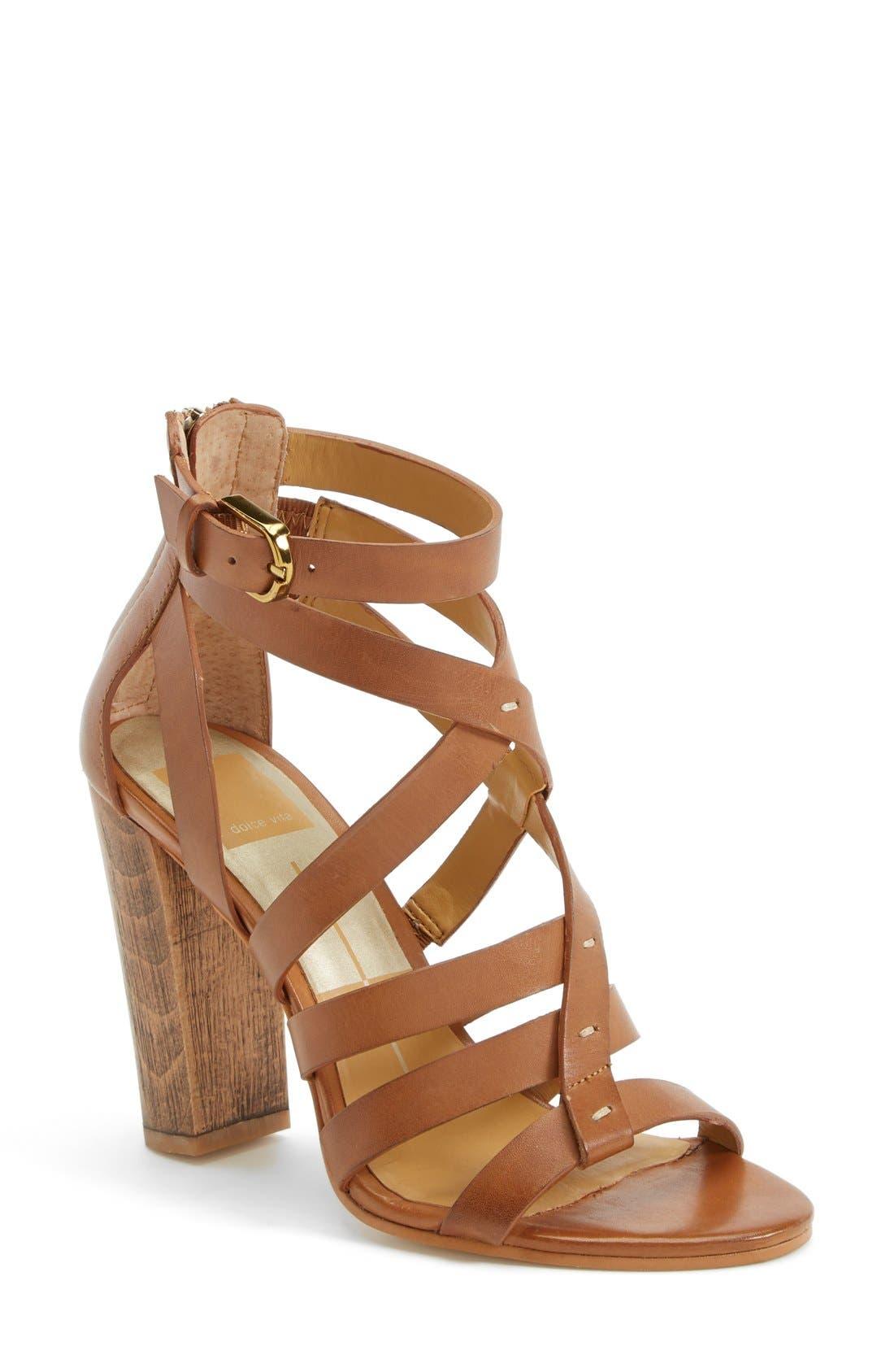 Alternate Image 1 Selected - Dolce Vita 'Nolin' Leather Sandal (Women)