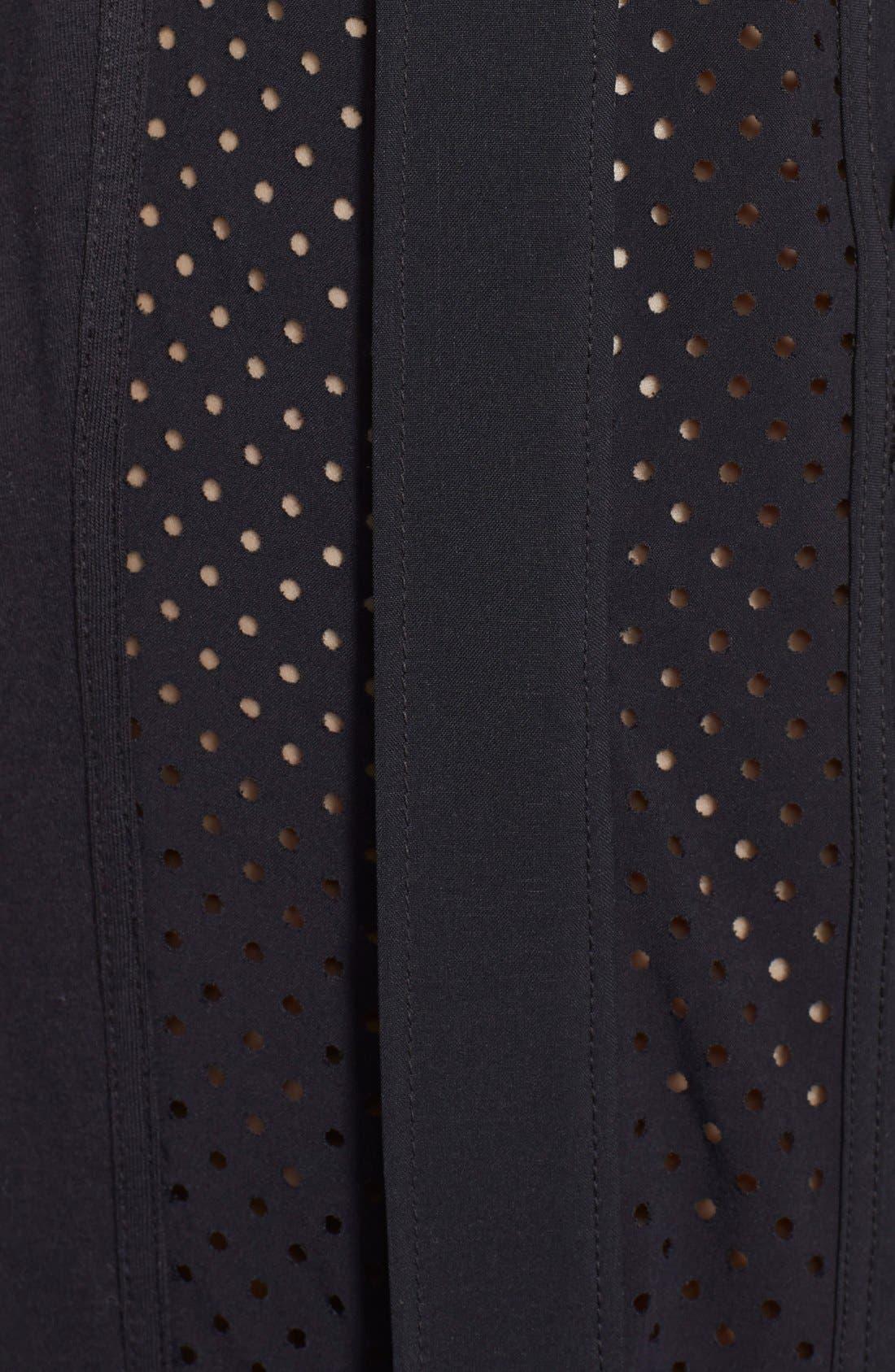 Alternate Image 4  - Zella Side Zip Track Pants