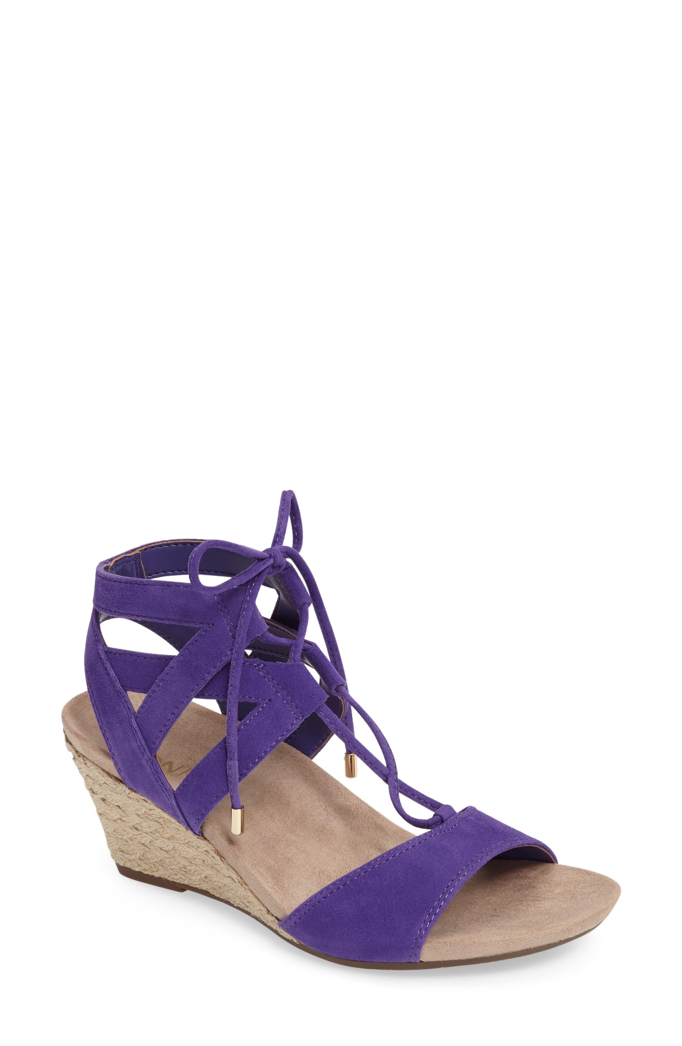 Vionic Tansy Wedge Espadrille Sandal (Women)