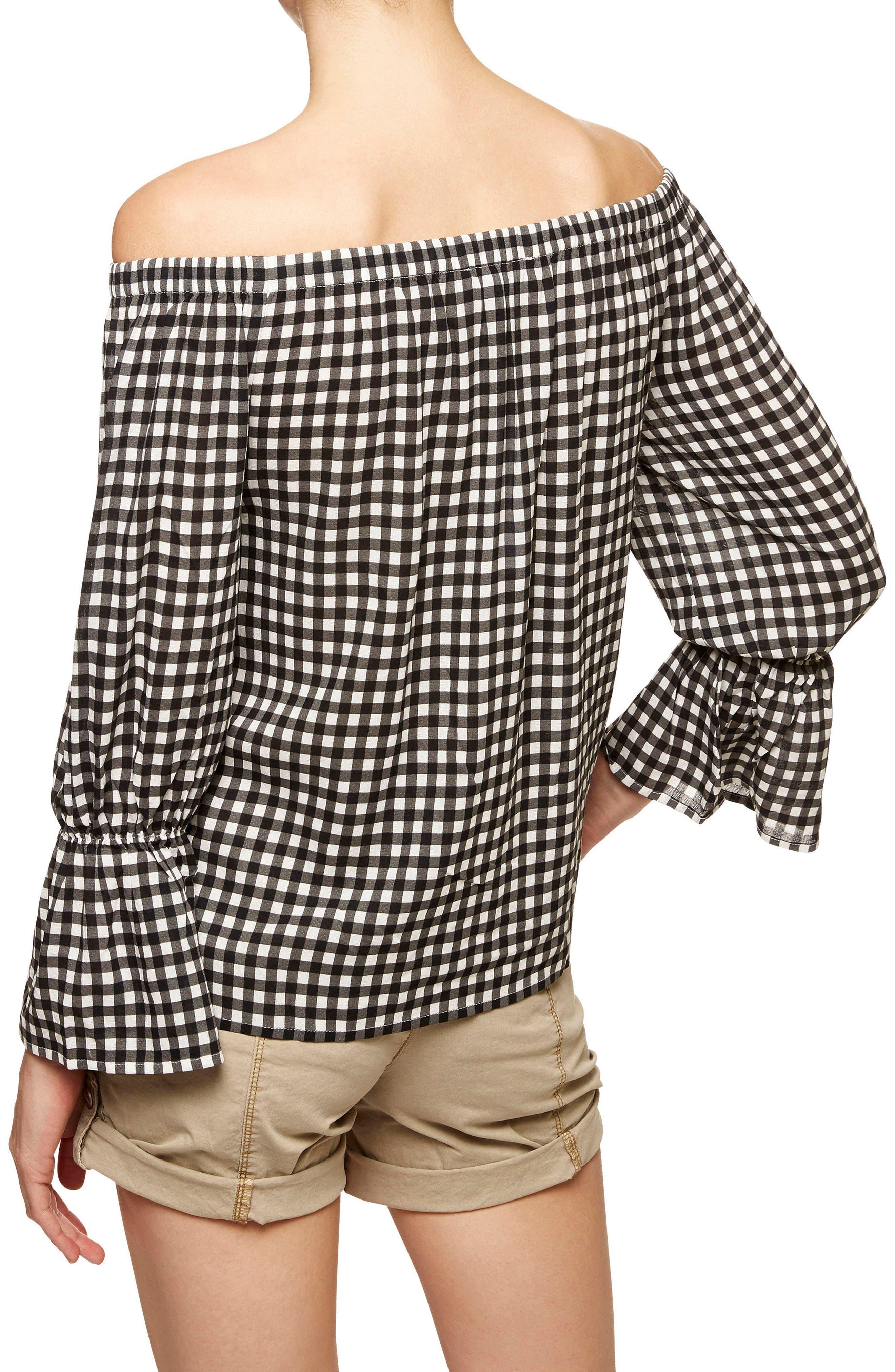 Alternate Image 5  - Sanctuary Off the Shoulder Blouse (Regular & Petite)