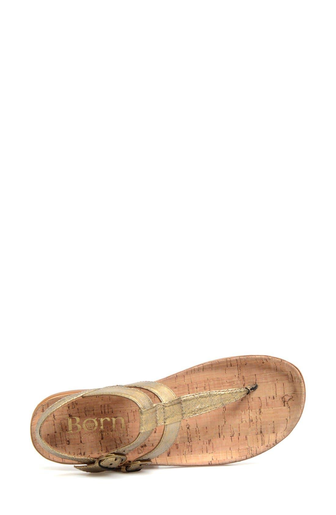 Alternate Image 3  - Børn 'Reta' Leather Thong Sandal (Women)