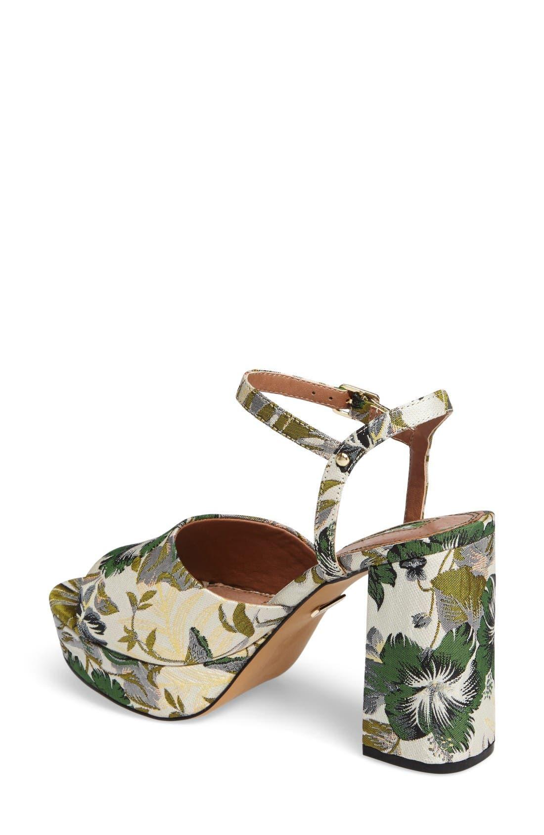 Alternate Image 2  - Topshop Lava Platform Sandal (Women)