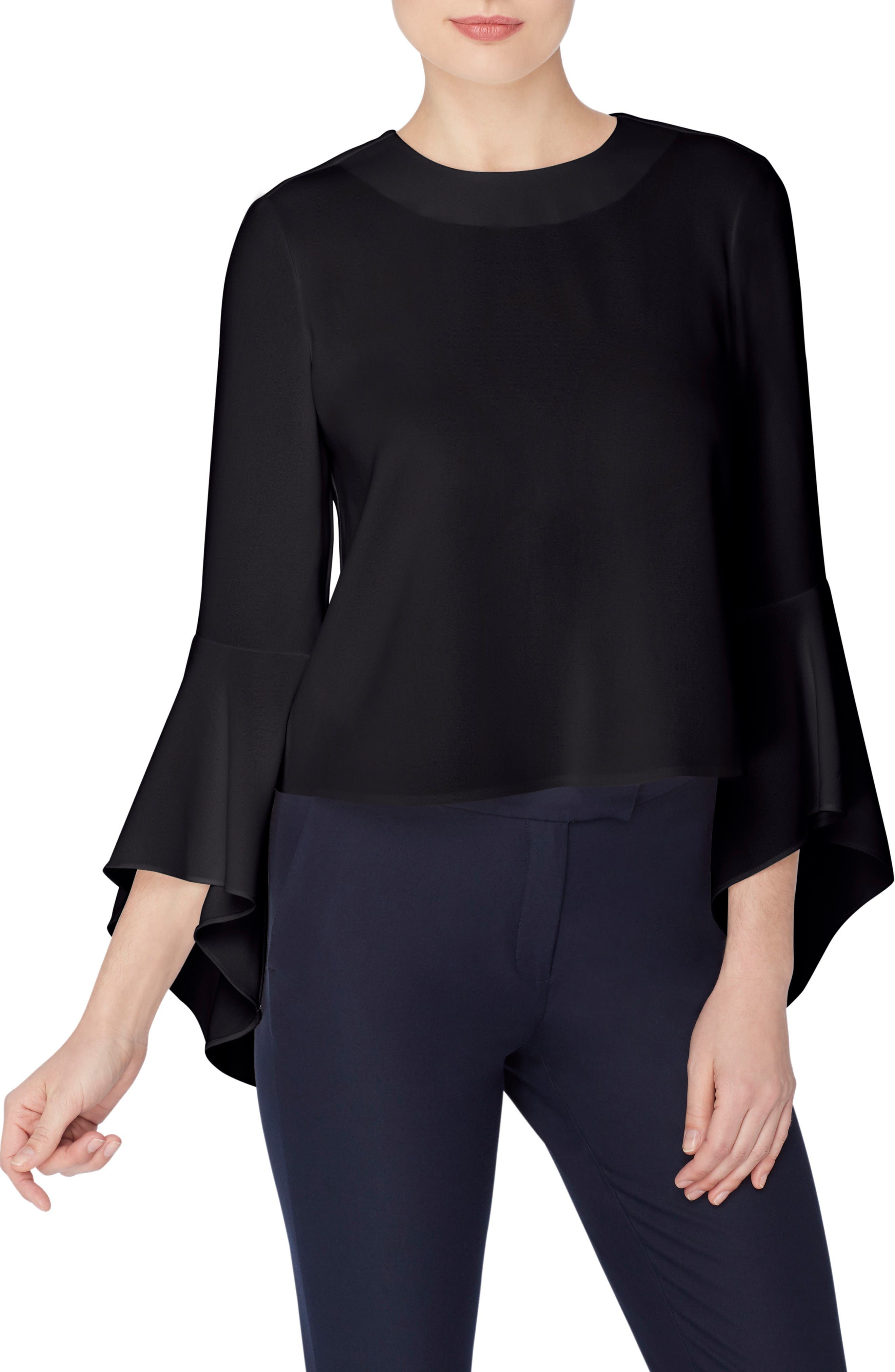 Catherine Catherine Malandrino Timber Bell Sleeve Blouse