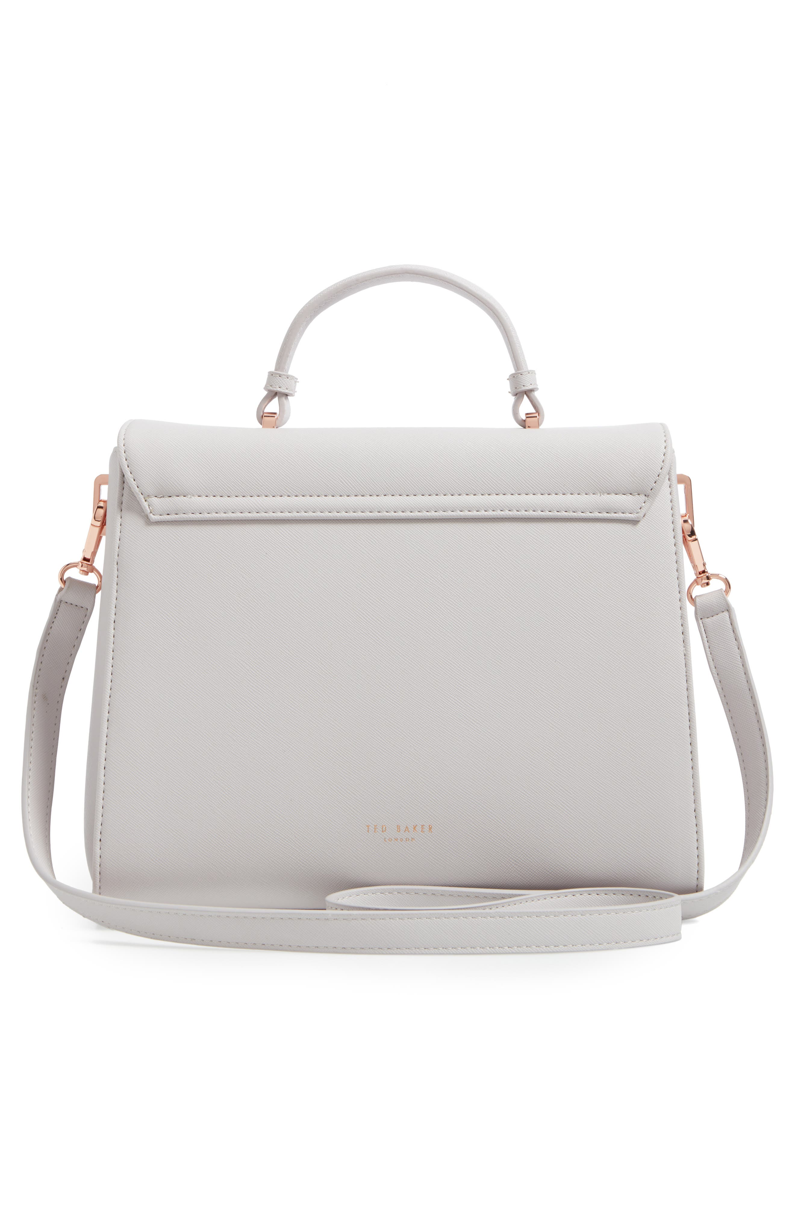 Alternate Image 2  - Ted Baker London Large Faux Leather Top Handle Satchel