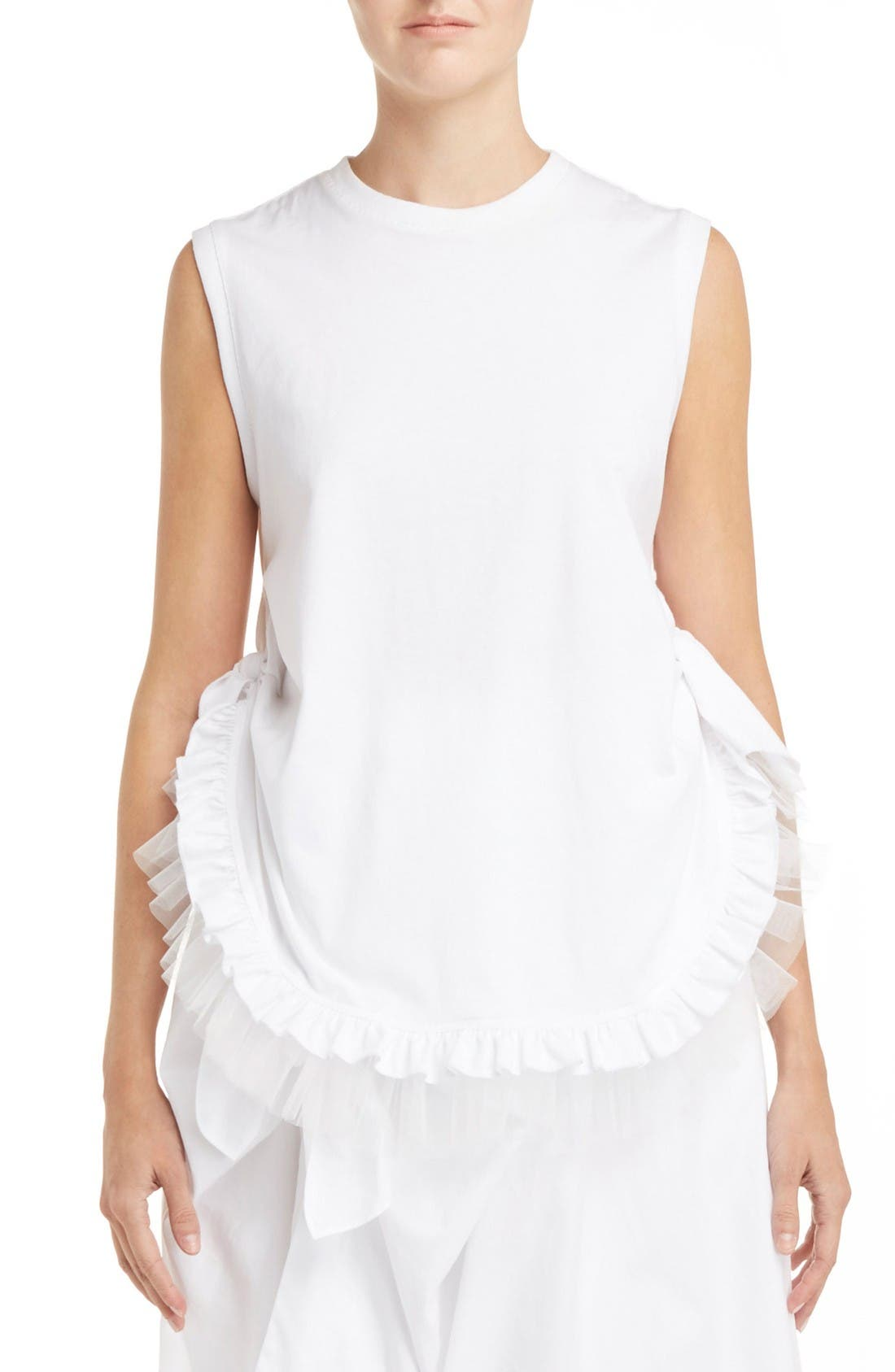 SIMONE ROCHA Knotted Frill Tee