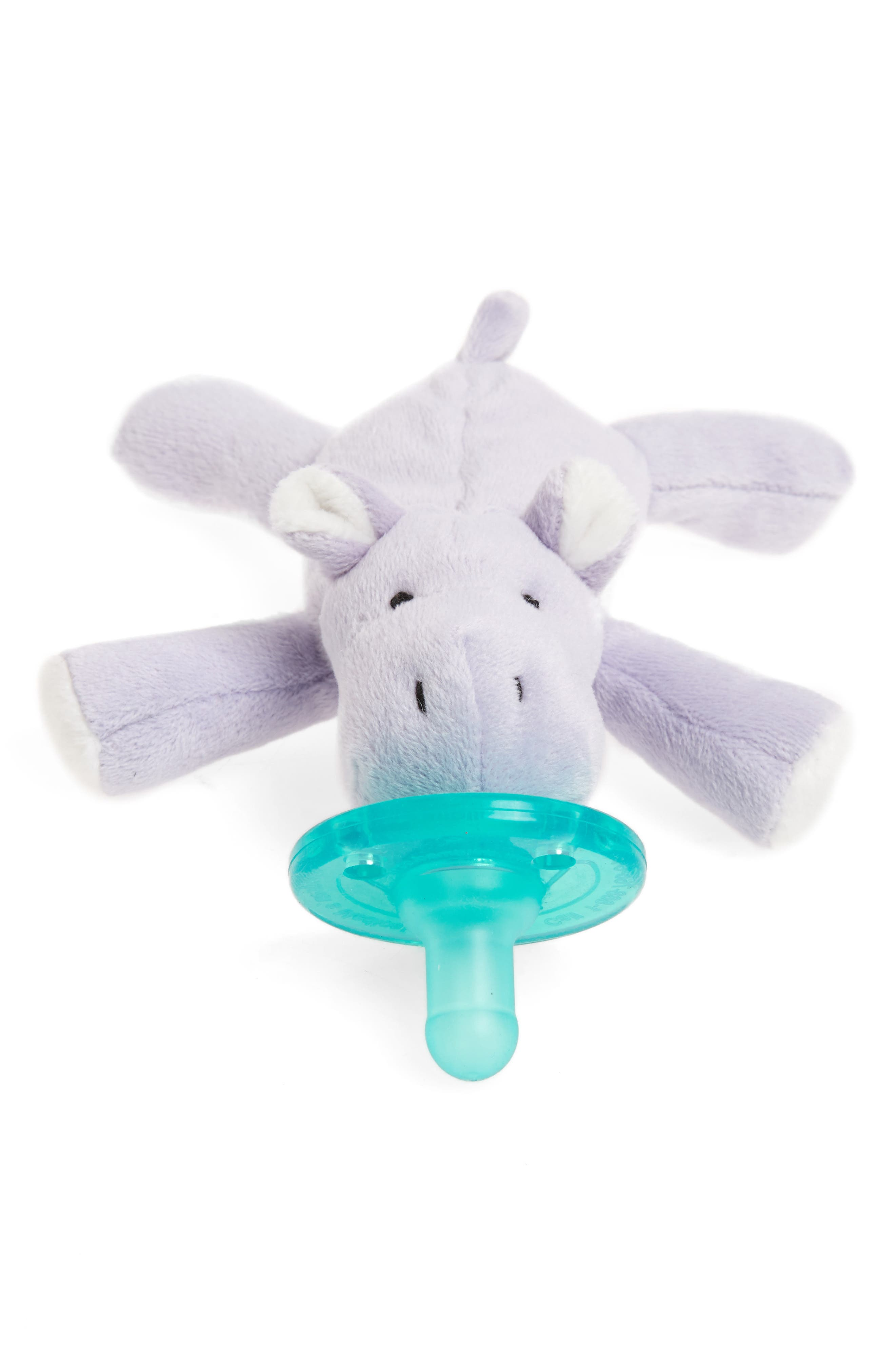 WubbaNub™ Baby Hippo Pacifier Toy