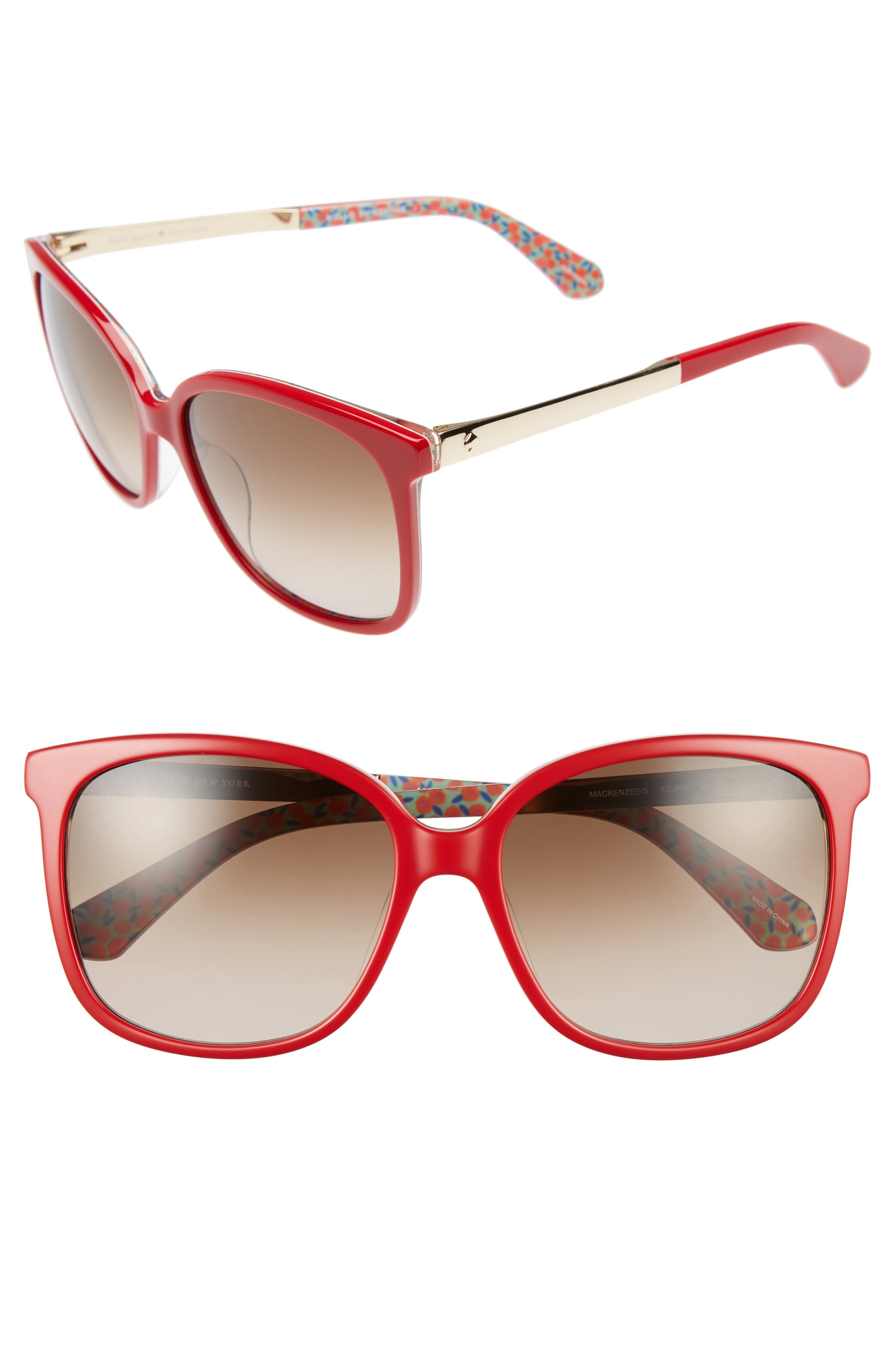 kate spade new york mackenzee 57mm Sunglasses