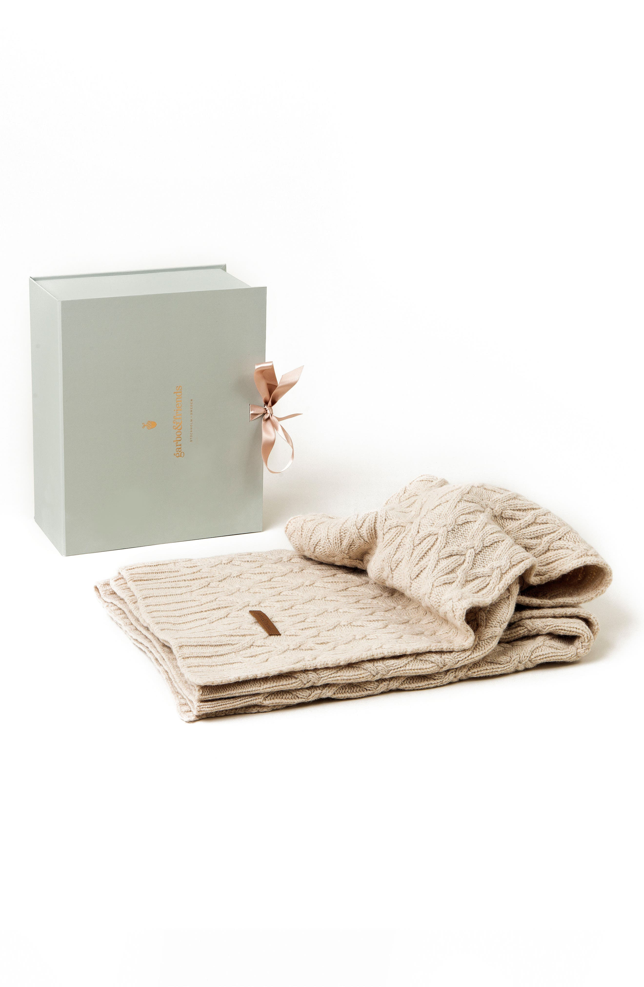 Garbo&Friends Knots Blanket & Gift Box Set (Baby)