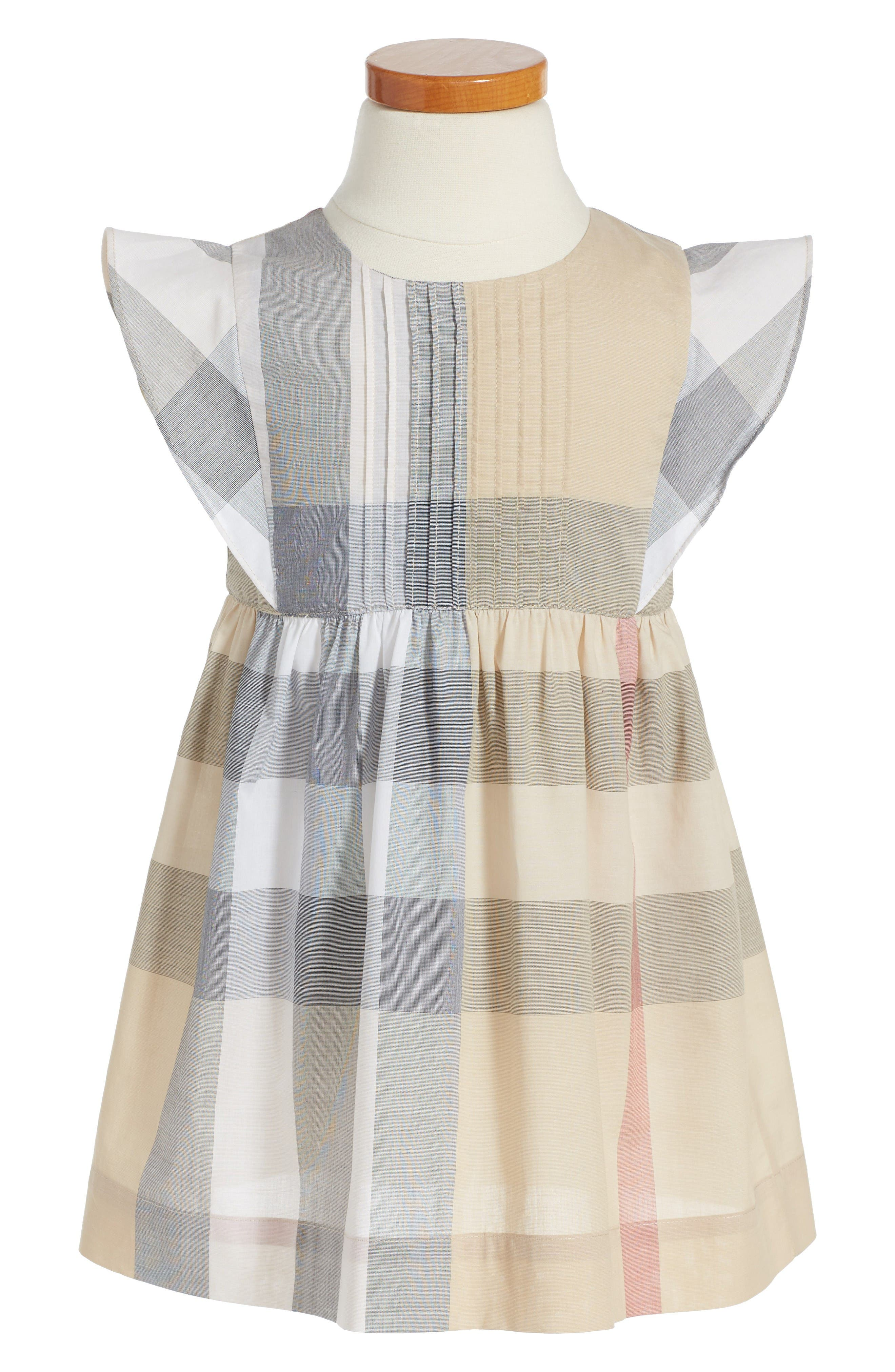 Burberry Gertrude Plaid Dress (Baby Girls & Toddler Girls)