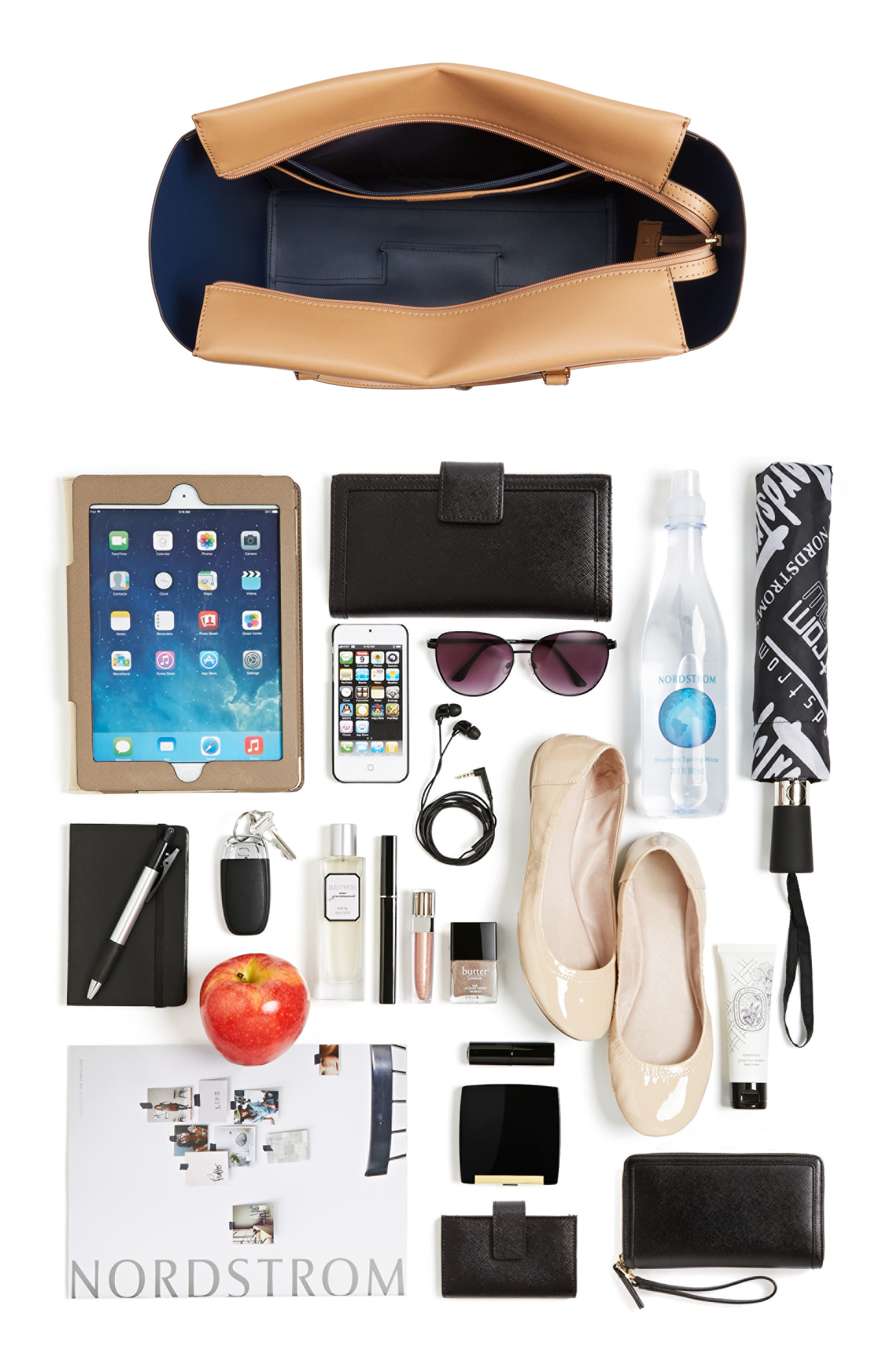 Alternate Image 7  - Tory Burch Parker Leather Tote