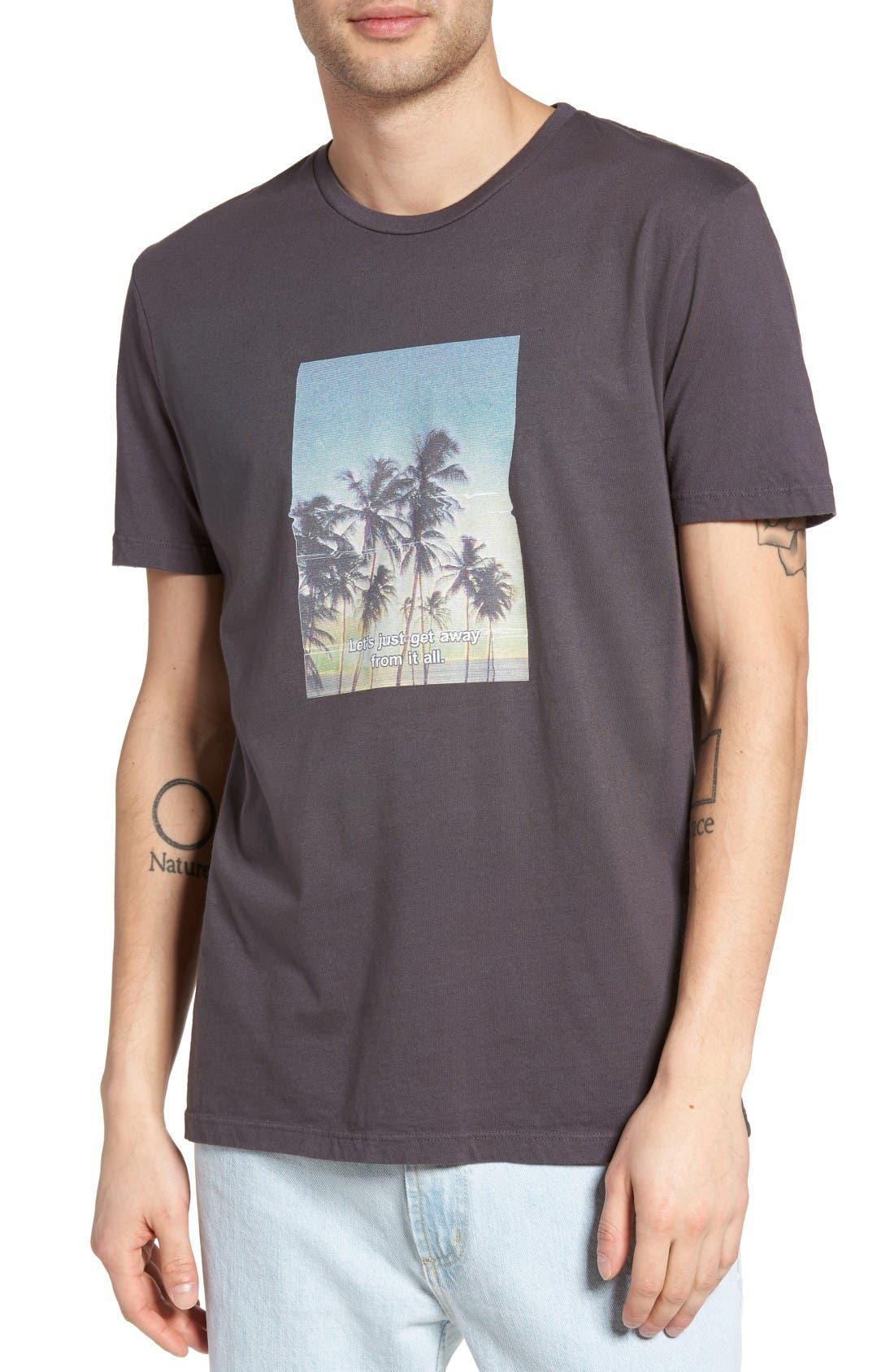 Altru Let's Just Get Away Graphic T-Shirt