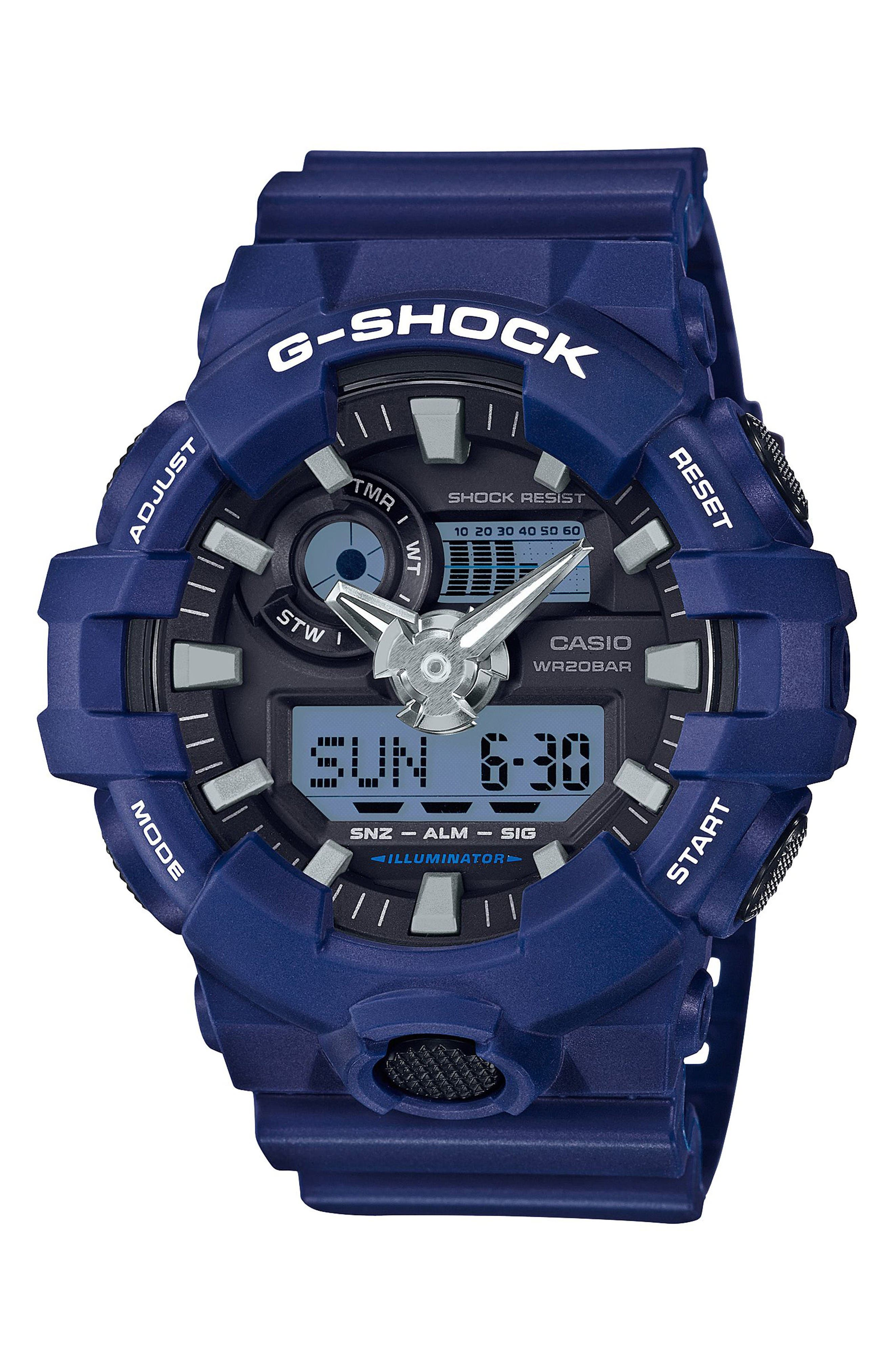 G-Shock GA700 Ana-Digi Watch, 57.5mm