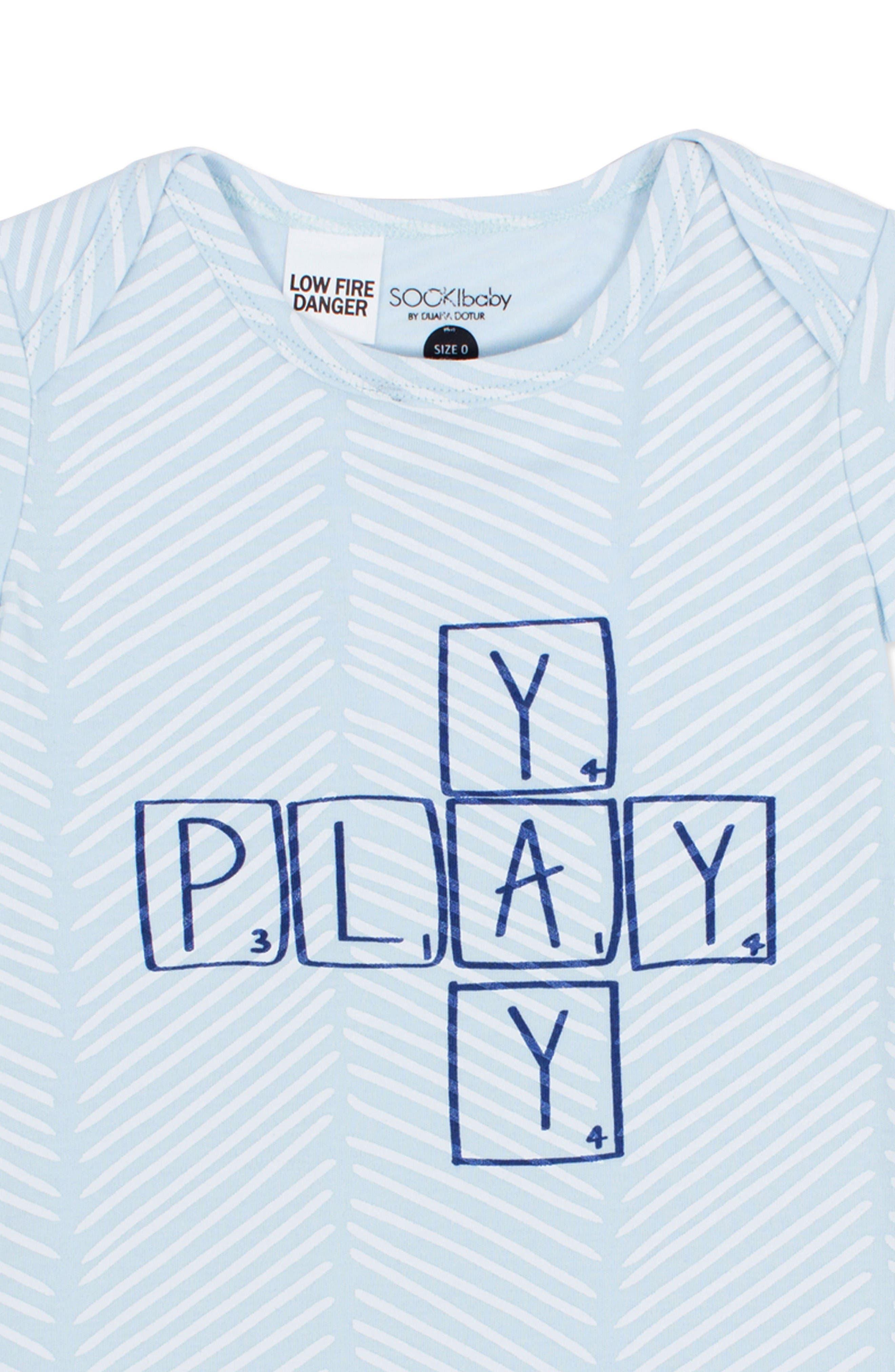 Alternate Image 2  - SOOKIbaby Yay Play Romper (Baby Boys)