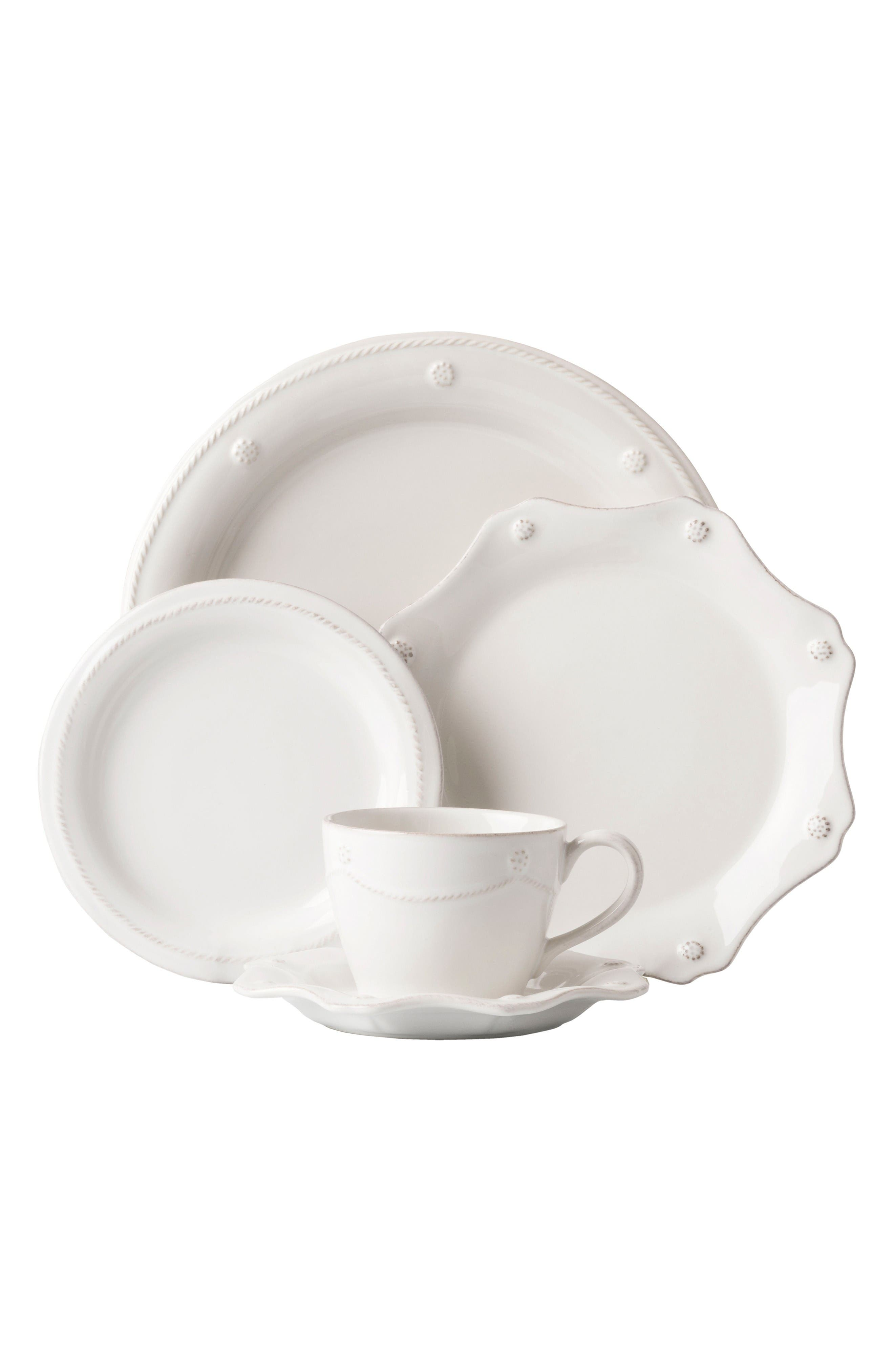 JULISKA 'Berry and Thread' 5-Piece Ceramic Place Setting