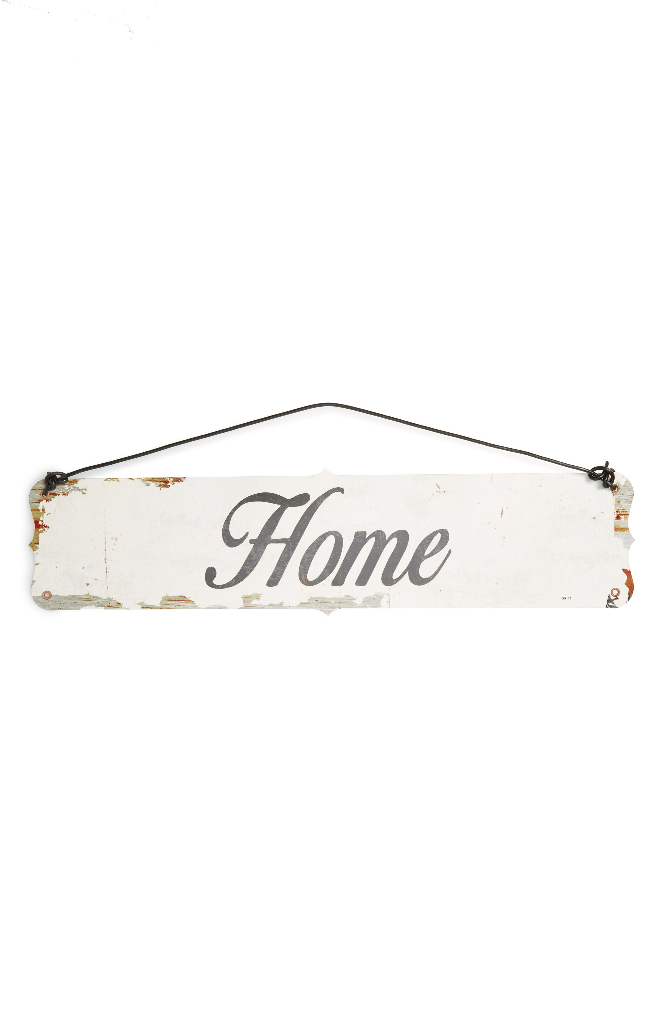 Main Image - Poncho & Goldstein Home Wall Sign