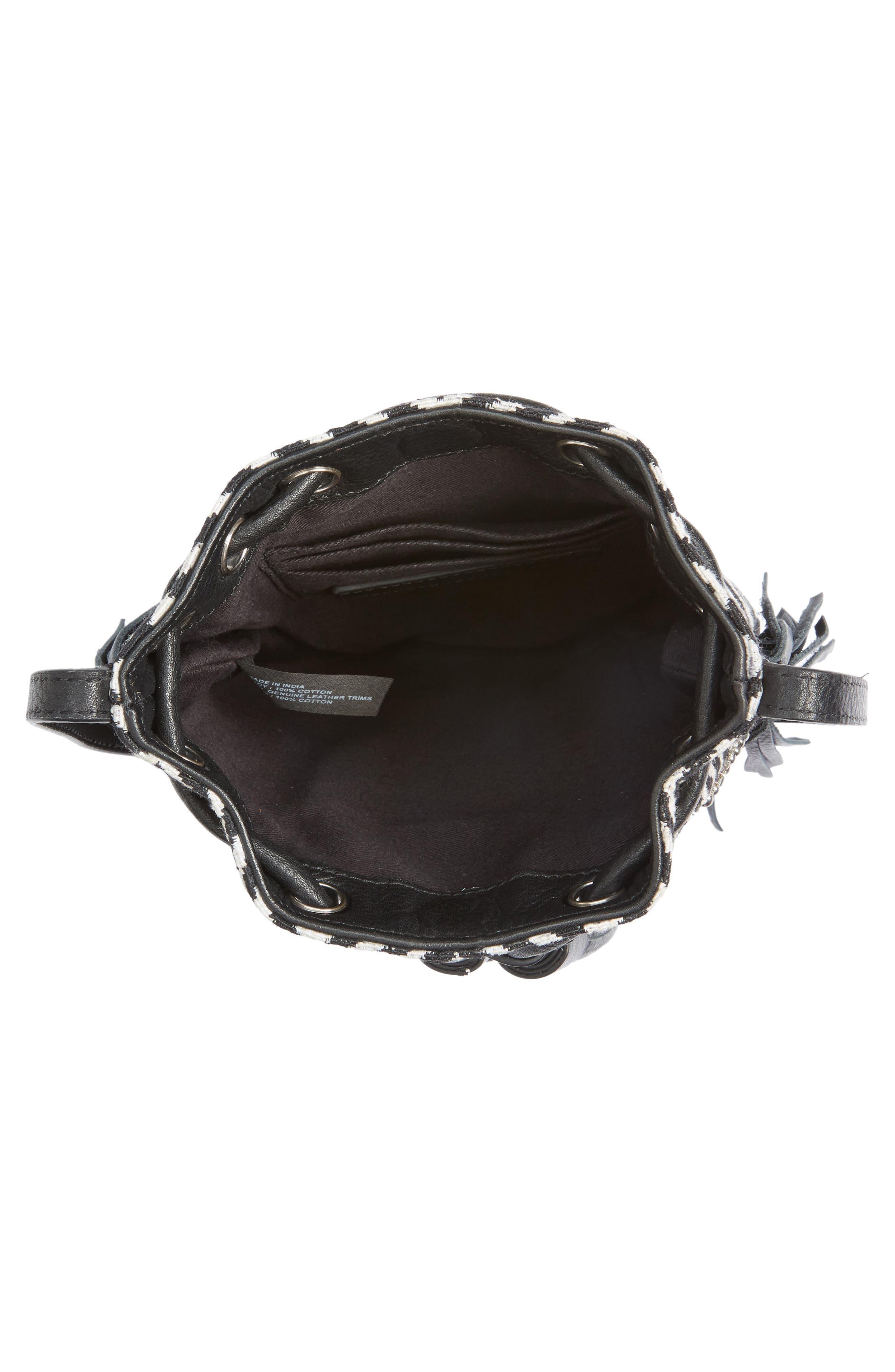 Alternate Image 4  - Rebecca Minkoff Wonder Phone Canvas Crossbody Bag
