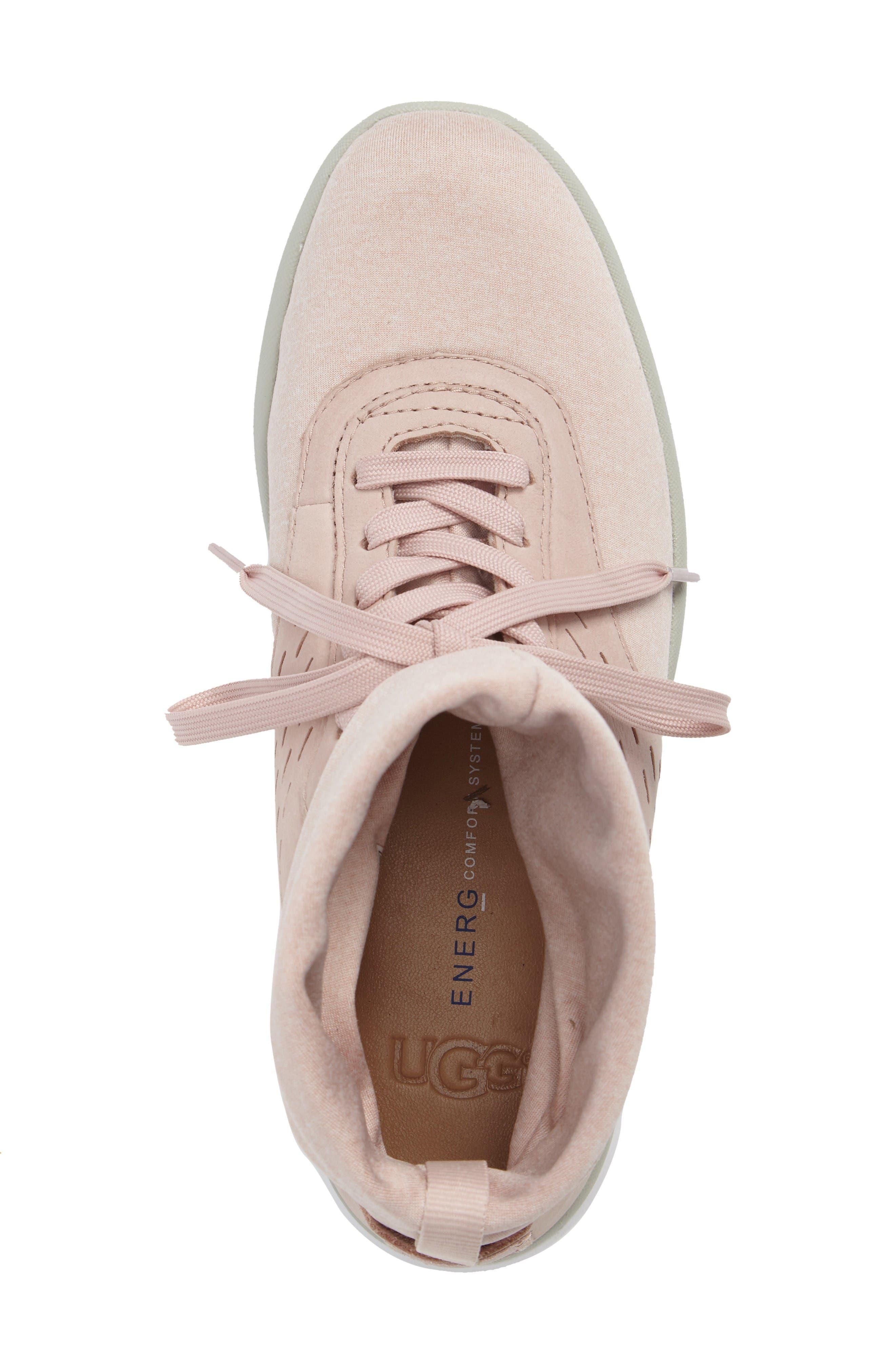 Alternate Image 5  - UGG® Islay High Top Sneaker (Women)