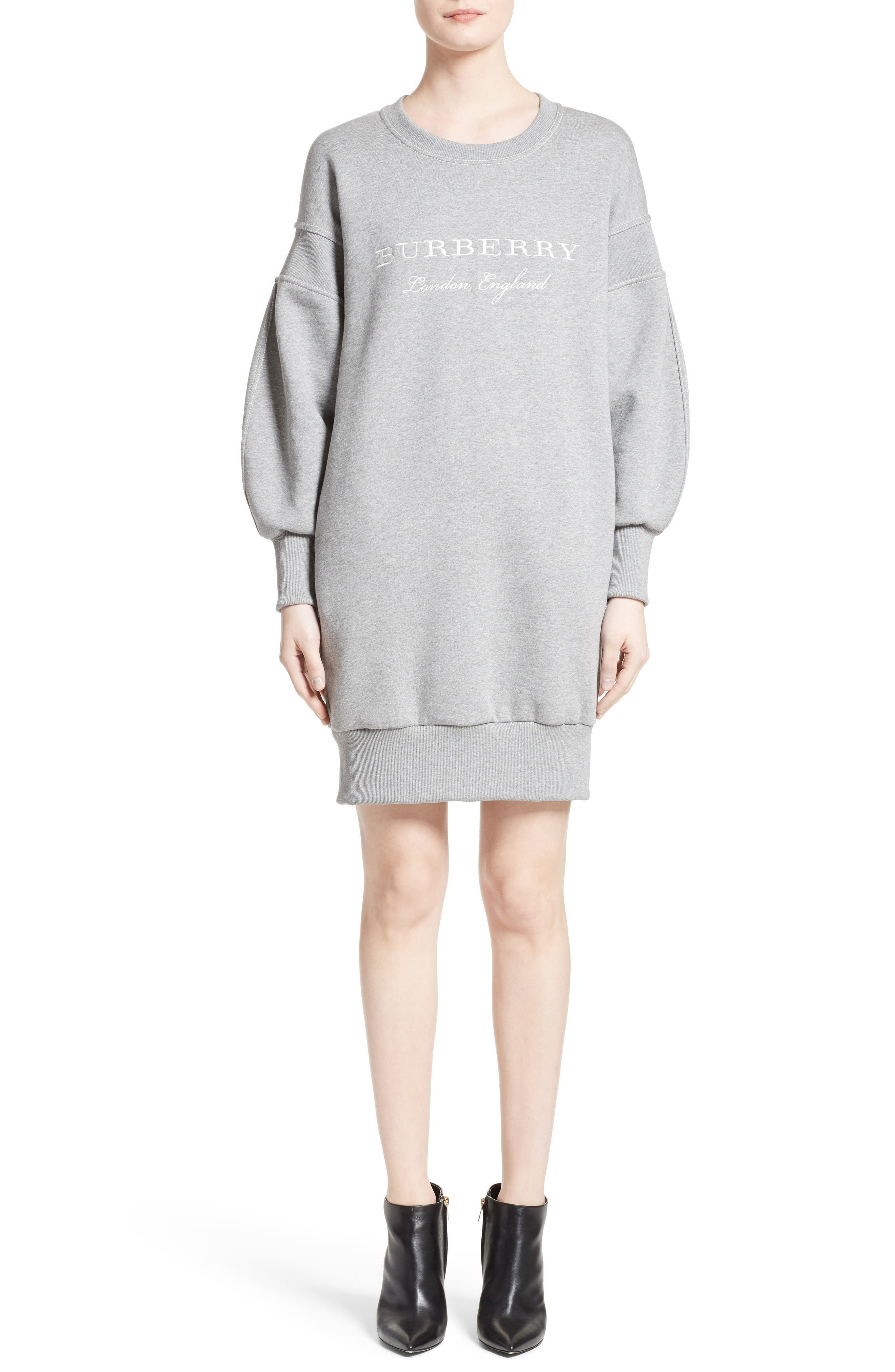 Burberry Soure Sweatshirt Dress