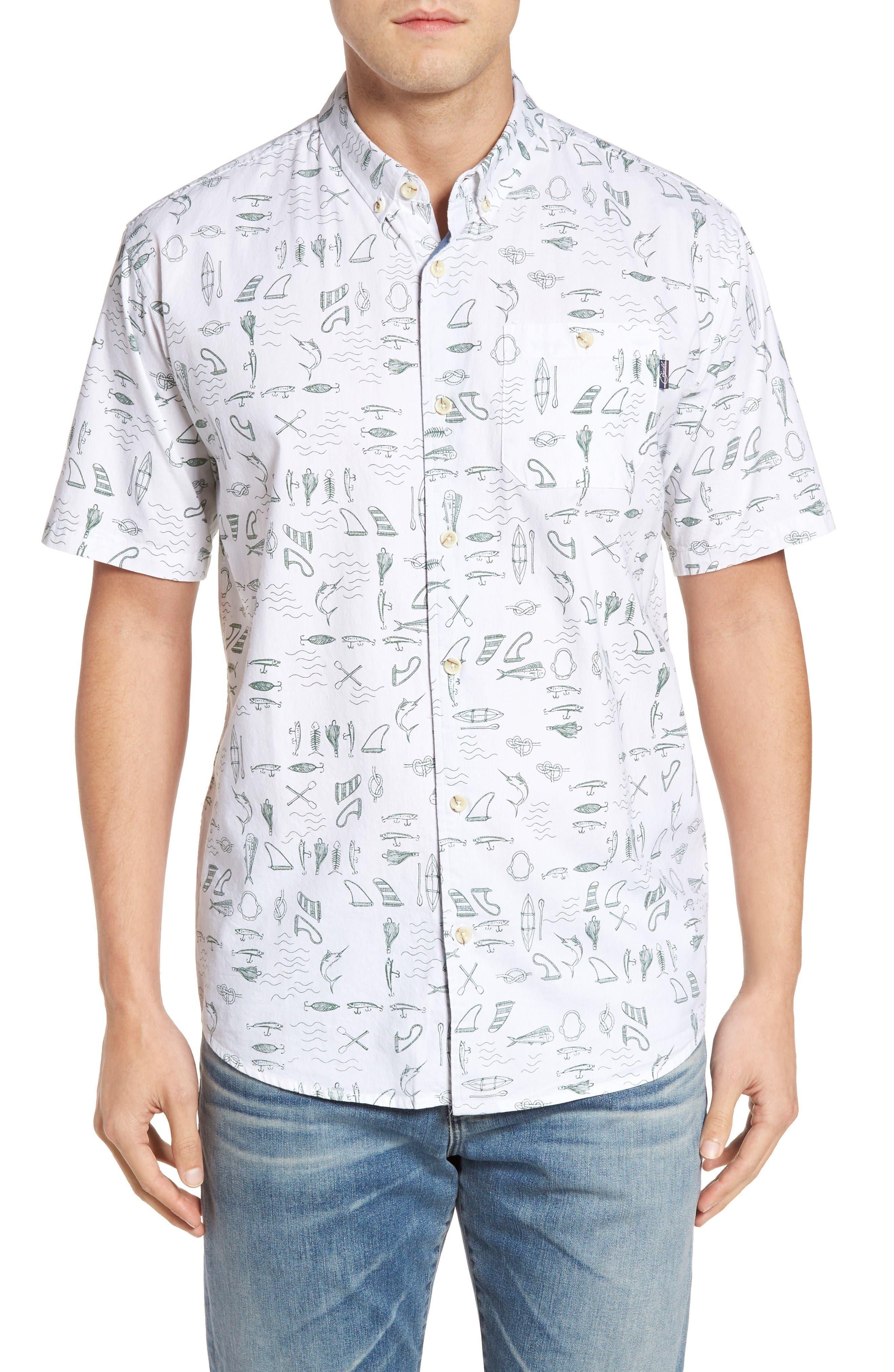 Jack O'Neill Old Harbor Print Sport Shirt
