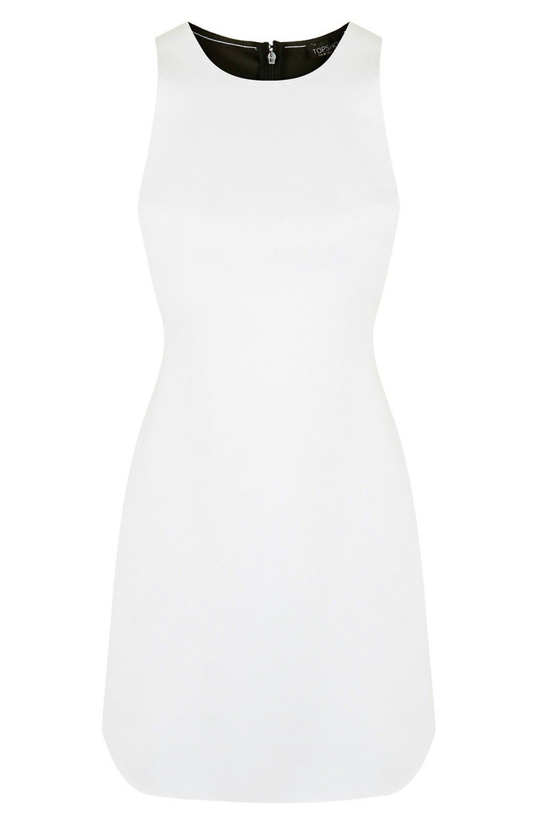 Alternate Image 3  - Topshop Raw Edge Cutout Body-Con Dress