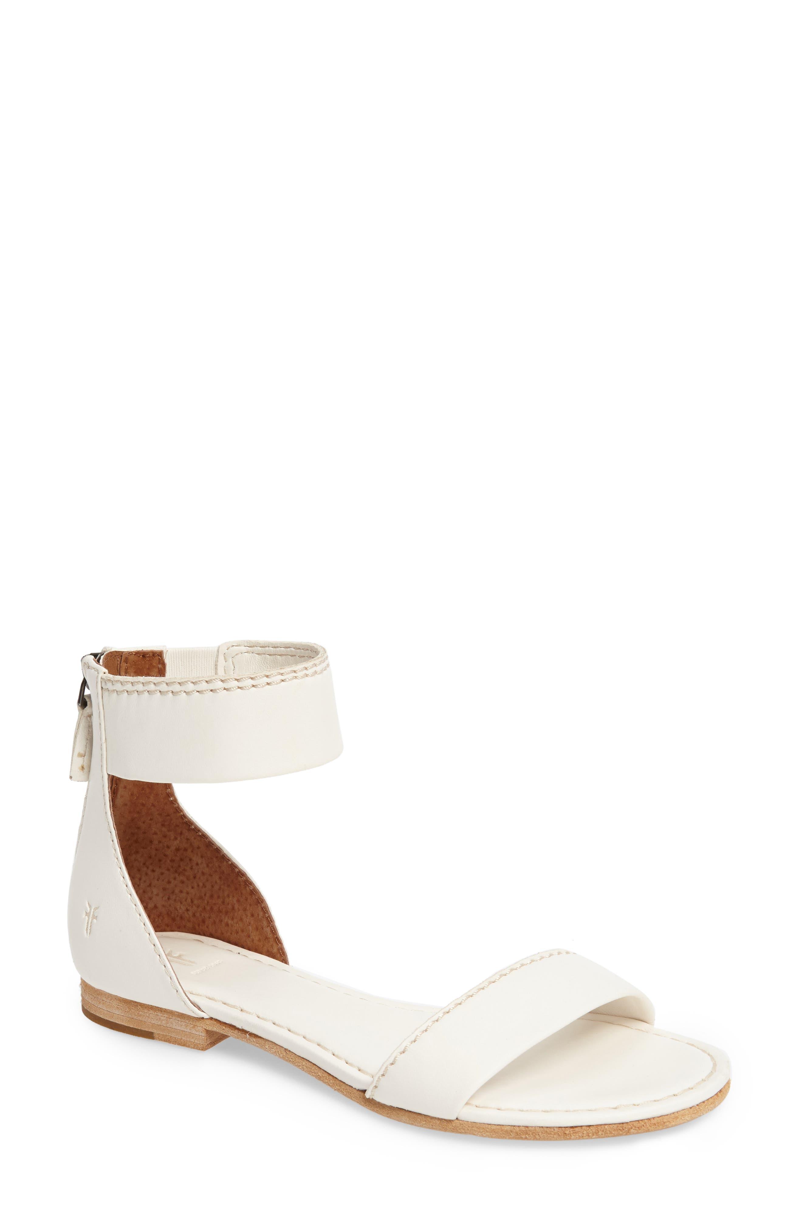 Frye Carson Ankle Strap Sandal (Women)