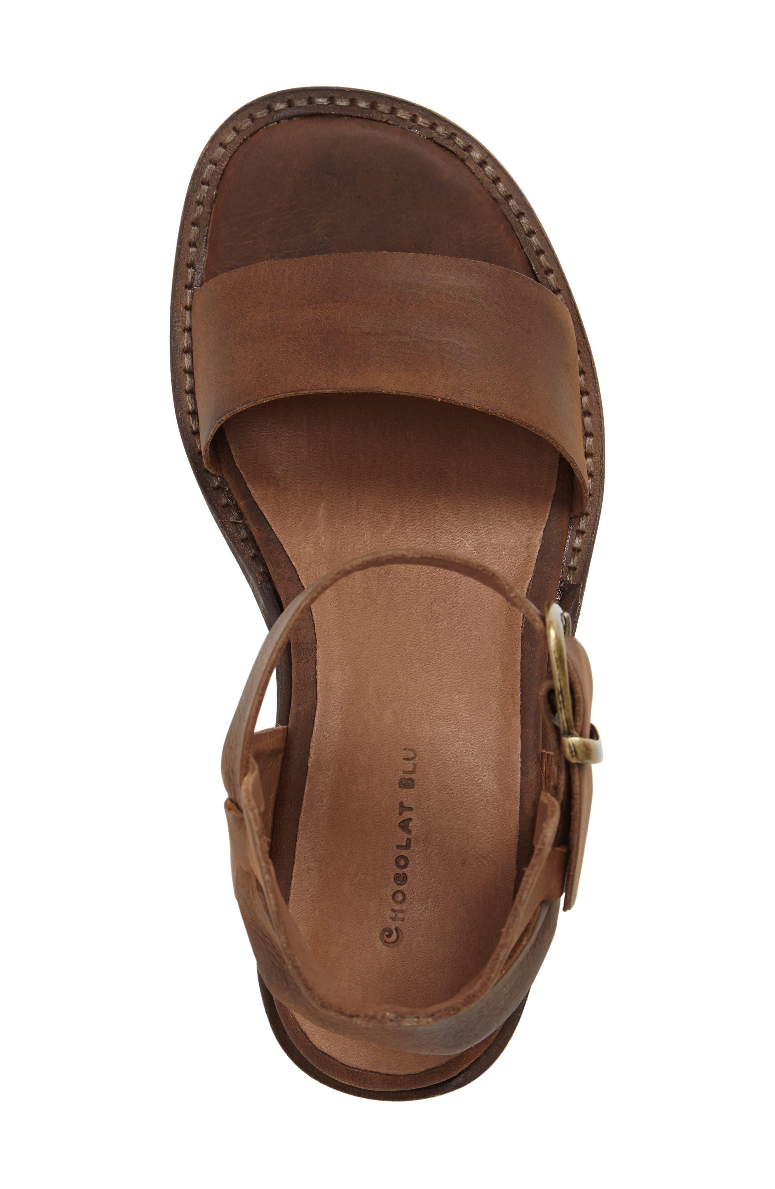 Alternate Image 5  - Chocolat Blu Arcadia Block Heel Sandal (Women)
