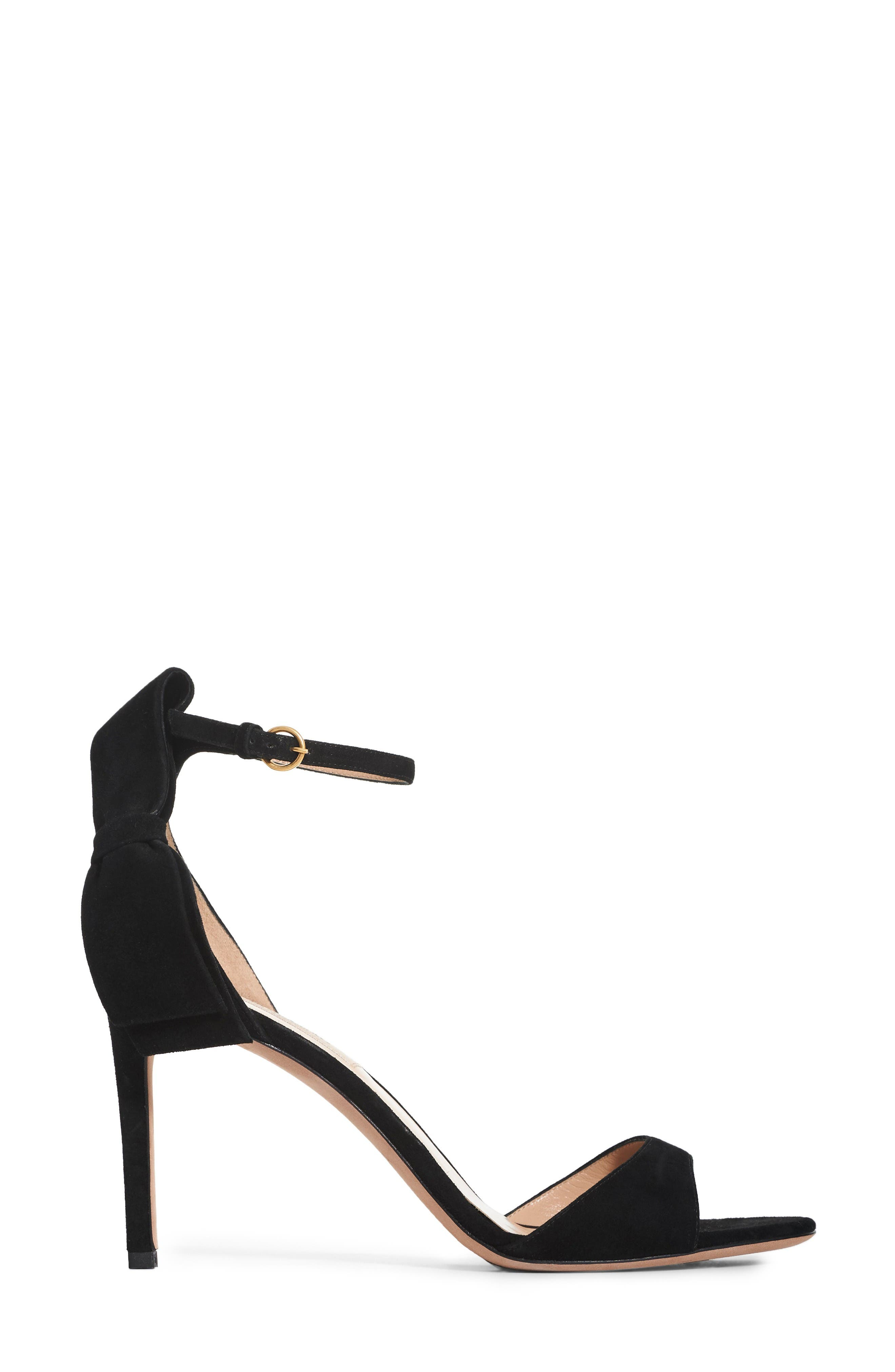 Alternate Image 4  - Valentino Bow Heel Sandal (Women)
