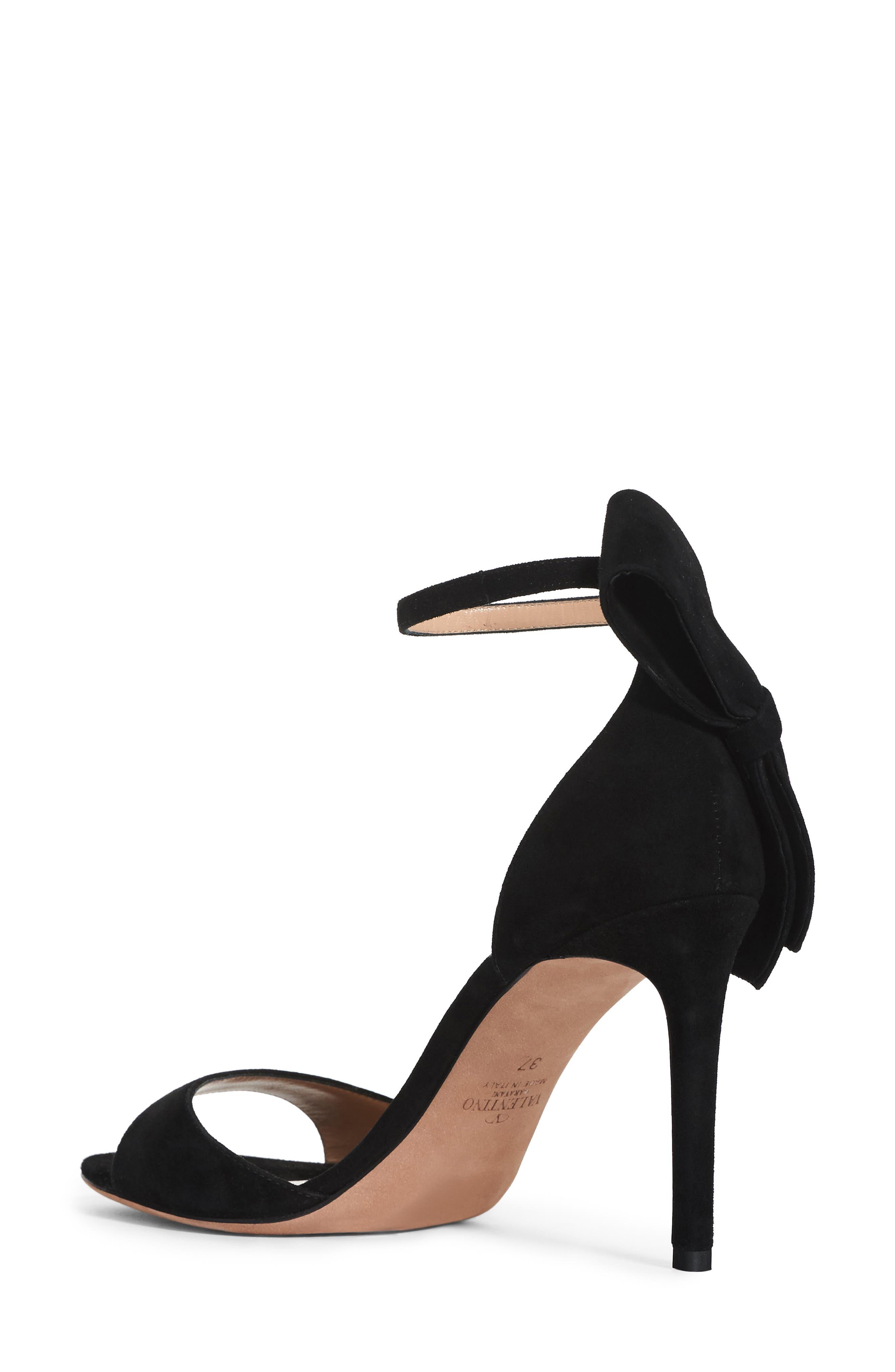 Alternate Image 2  - Valentino Bow Heel Sandal (Women)