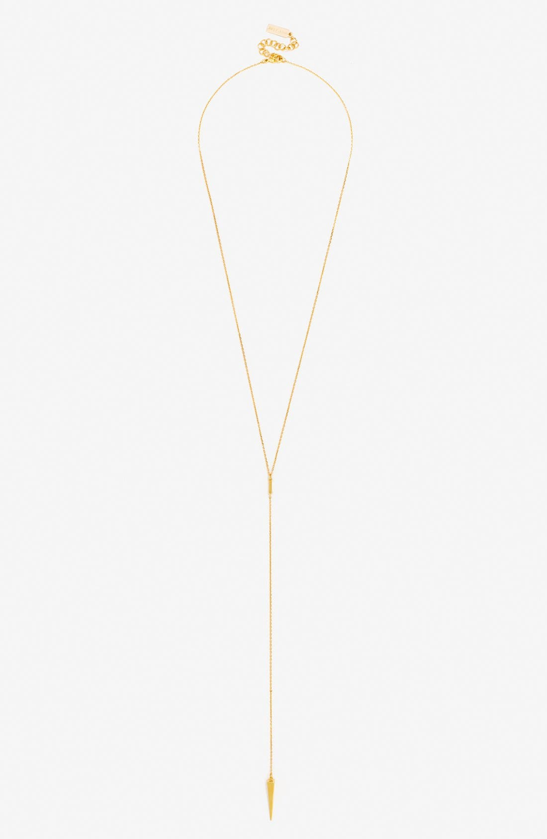 BaubleBar 'Pyramid Spike' Y-Necklace