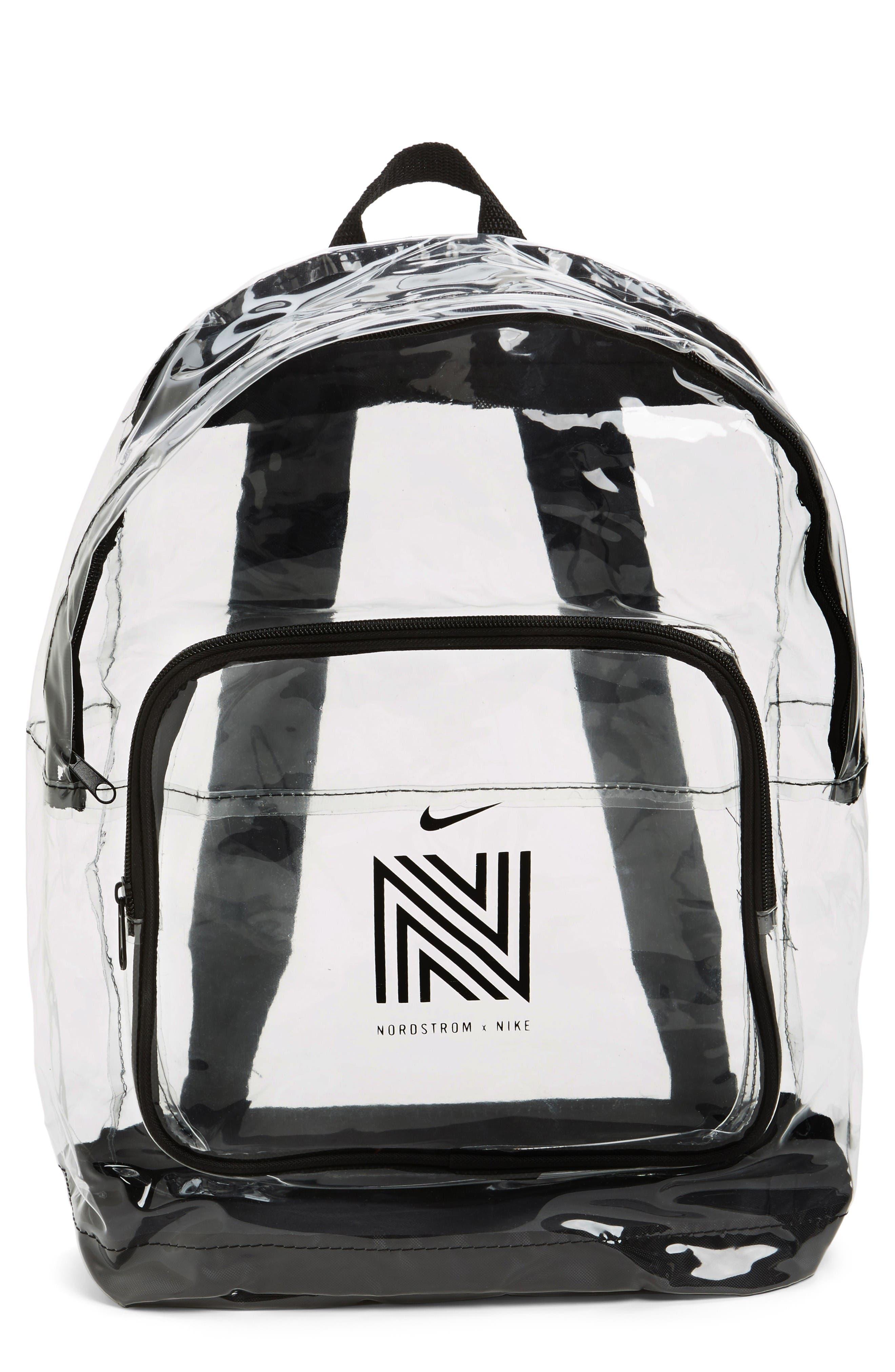 Alternate Image 1 Selected - Nordstrom x Nike Translucent Backpack