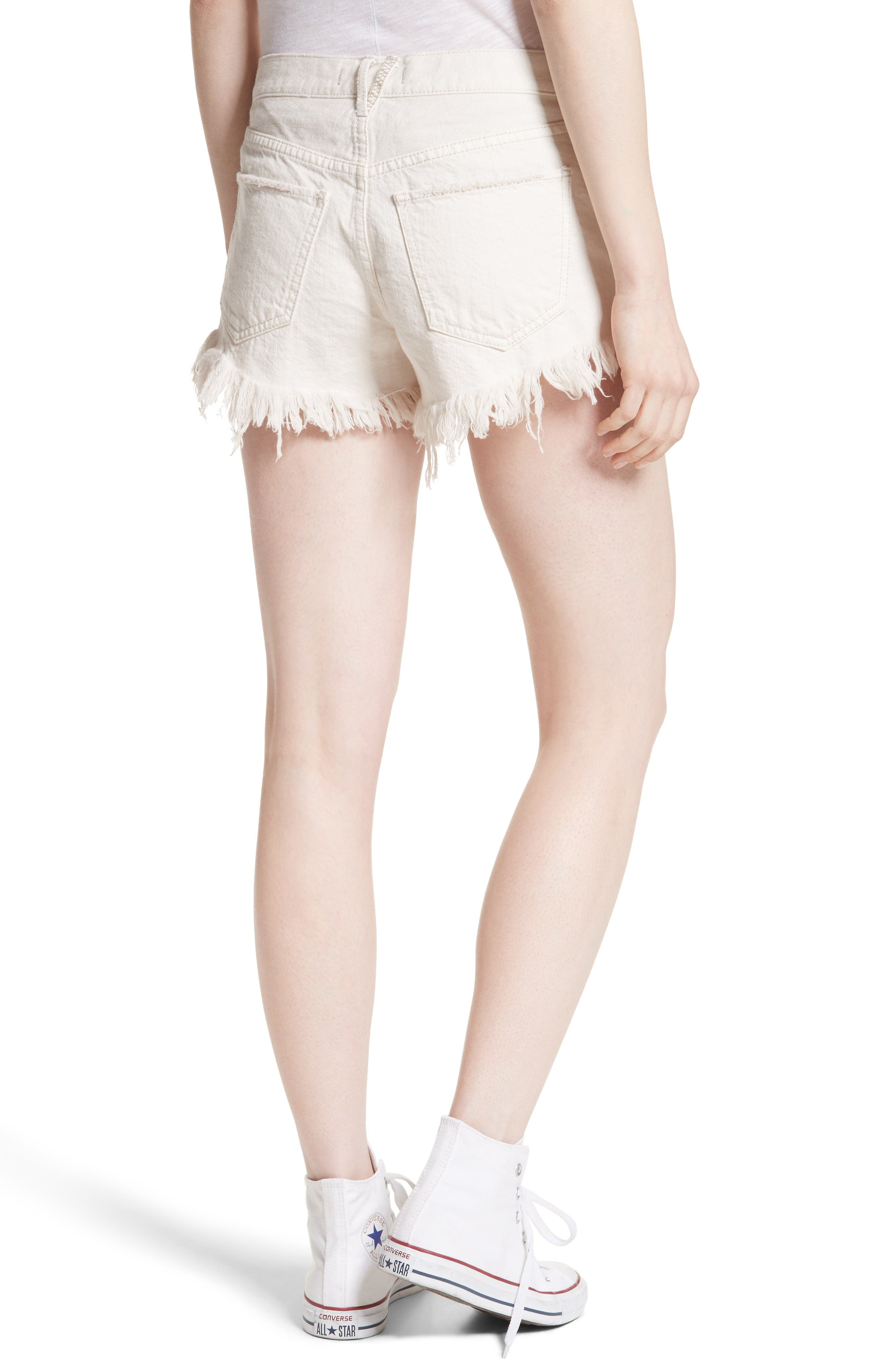 Alternate Image 2  - Free People Cutoff Denim Shorts