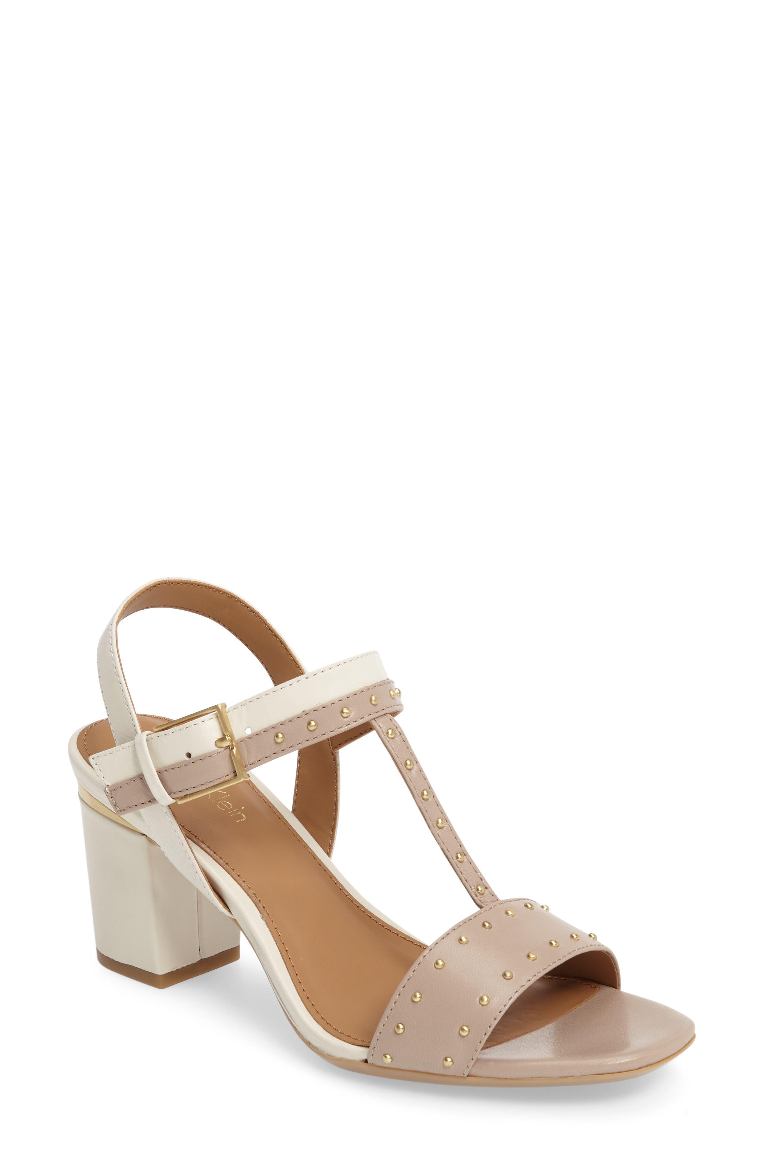 Calvin Klein Carline T-Strap Sandal (Women)