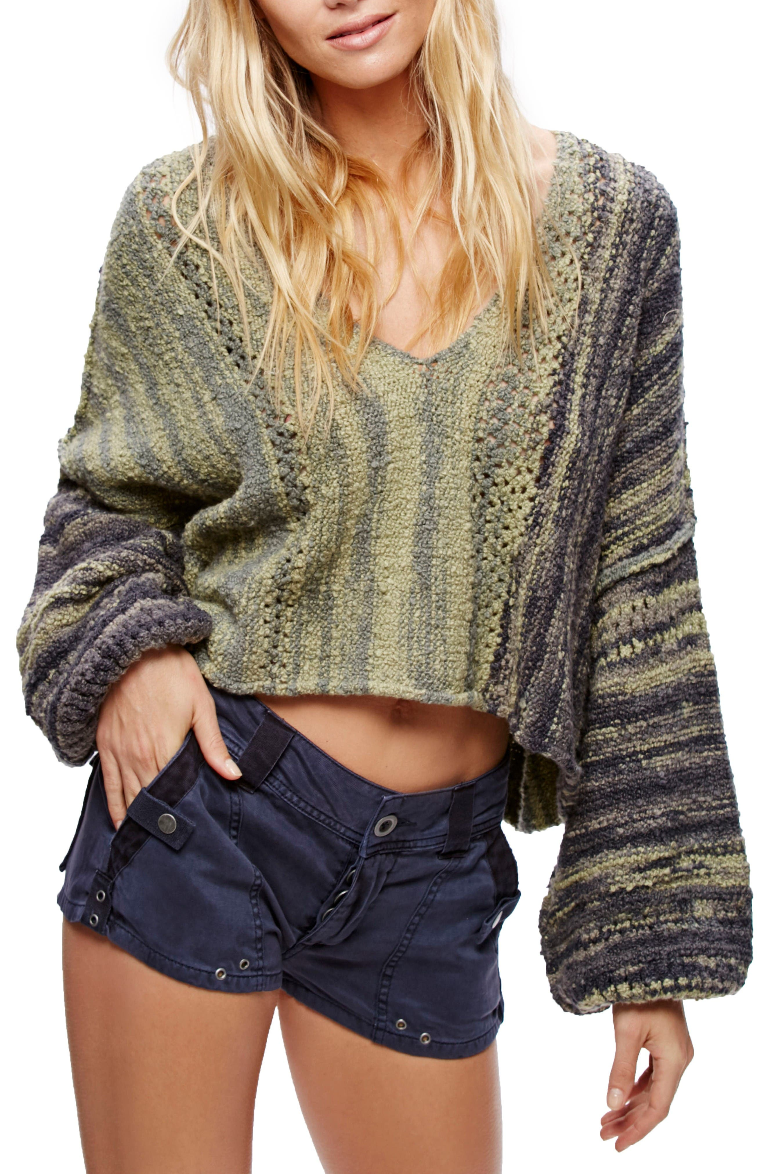 Alternate Image 1 Selected - Free People Amethyst Pullover