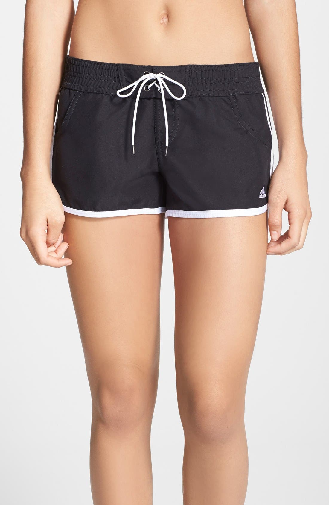 Alternate Image 1 Selected - adidas Tie Waist Board Shorts