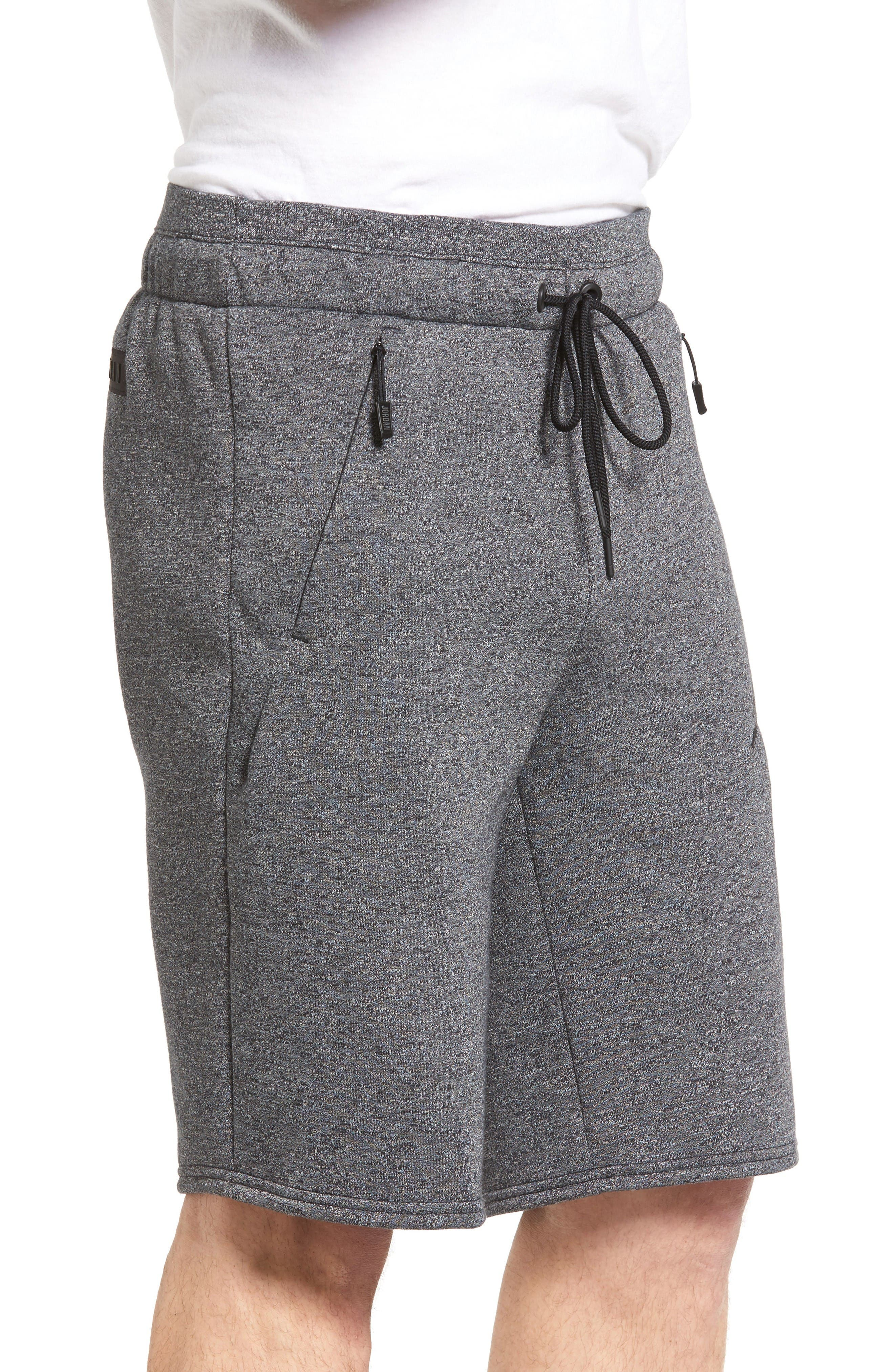Alternate Image 3  - Nike Jordan Icon Fleece Shorts