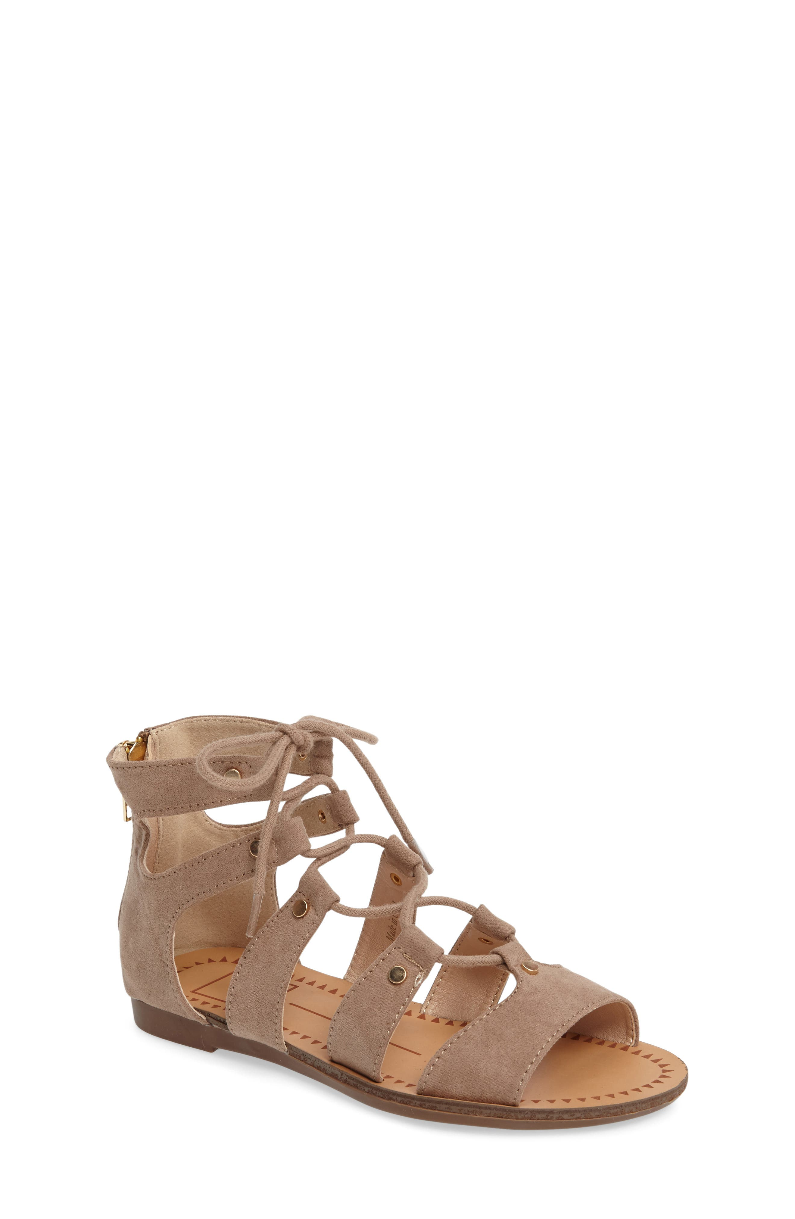 Dolce Vita Footwear 'Brooke' Ghillie Sandal (Toddler, Little Kid & Big Kid)