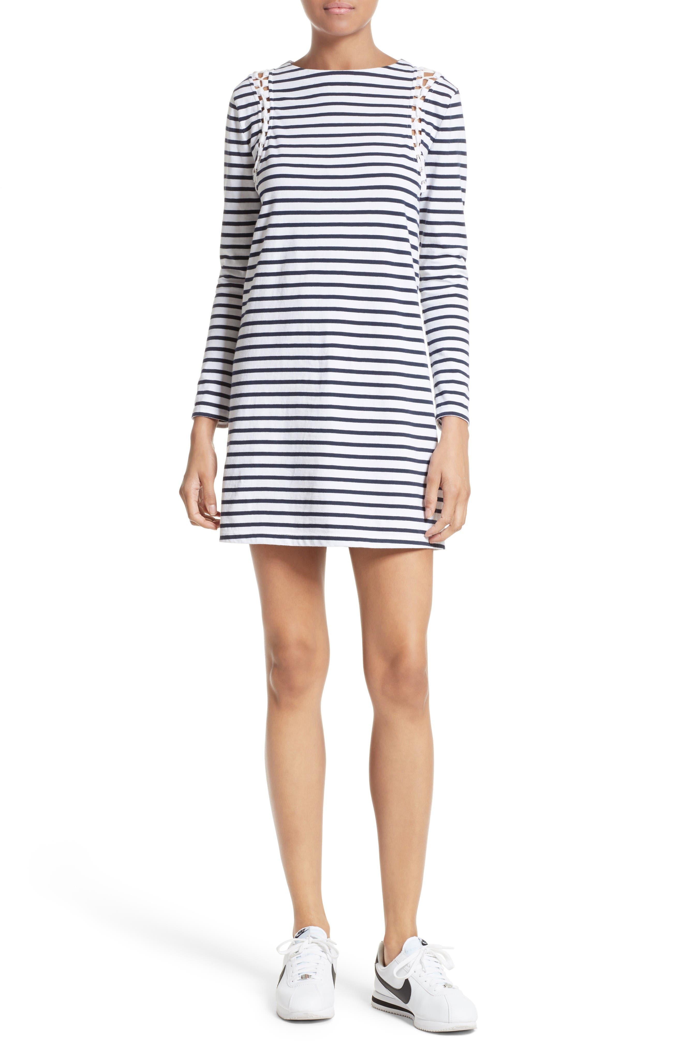 A.L.C. Chapman Stripe Cotton Dress