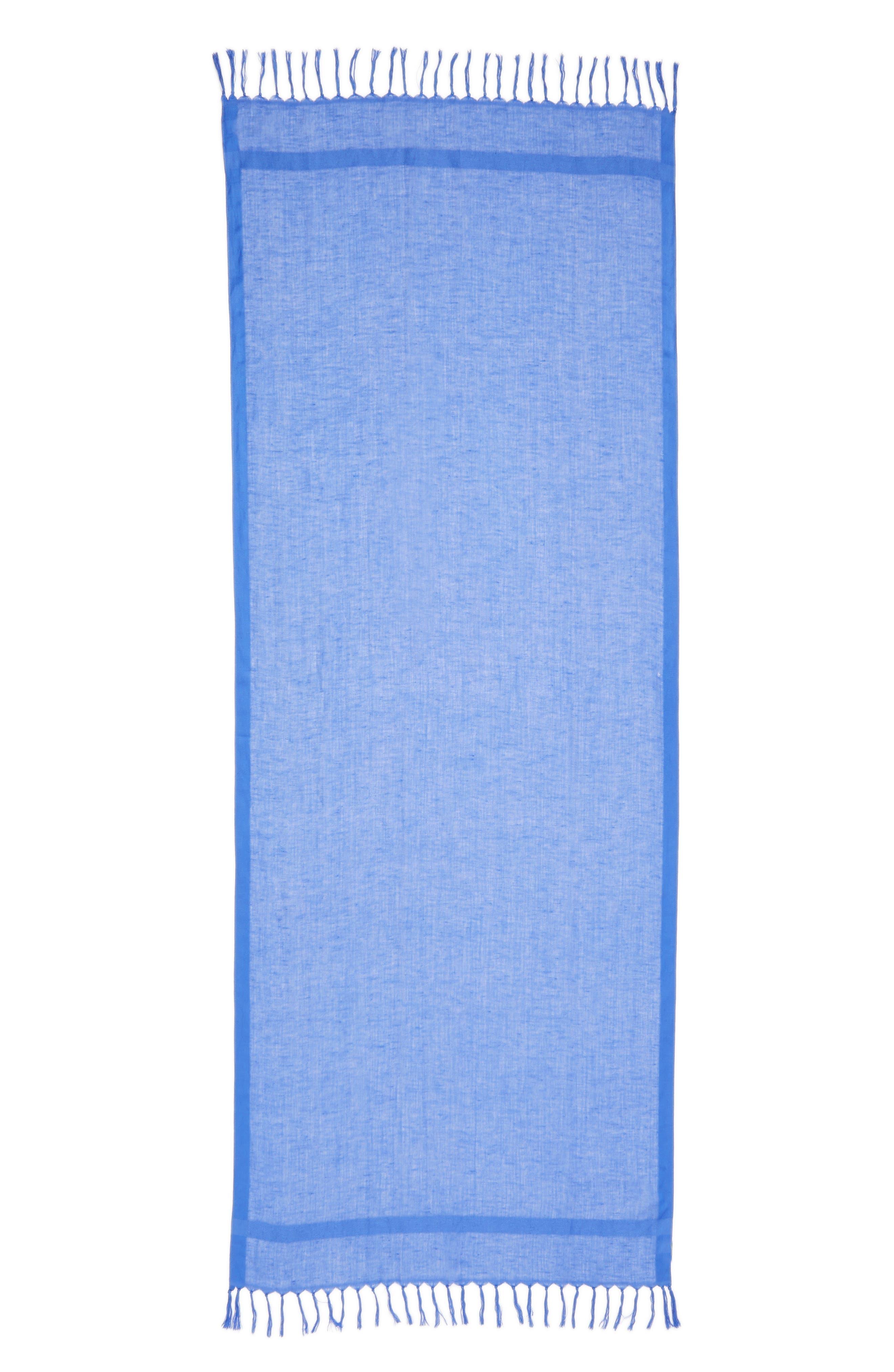 Alternate Image 2  - Caslon® Linen Blend Scarf