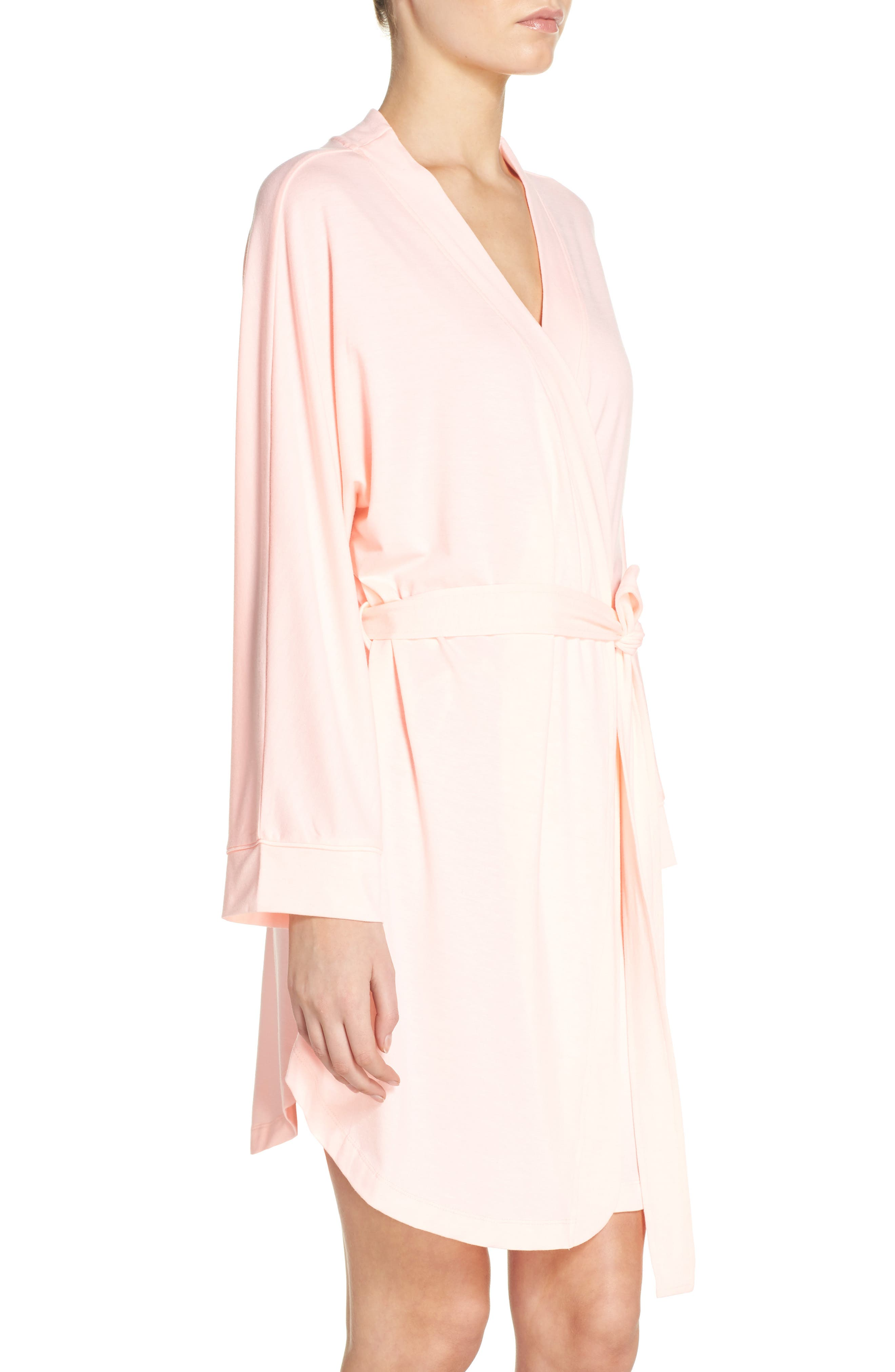 Alternate Image 3  - Honeydew Intimates Jersey Robe (2 for $60)