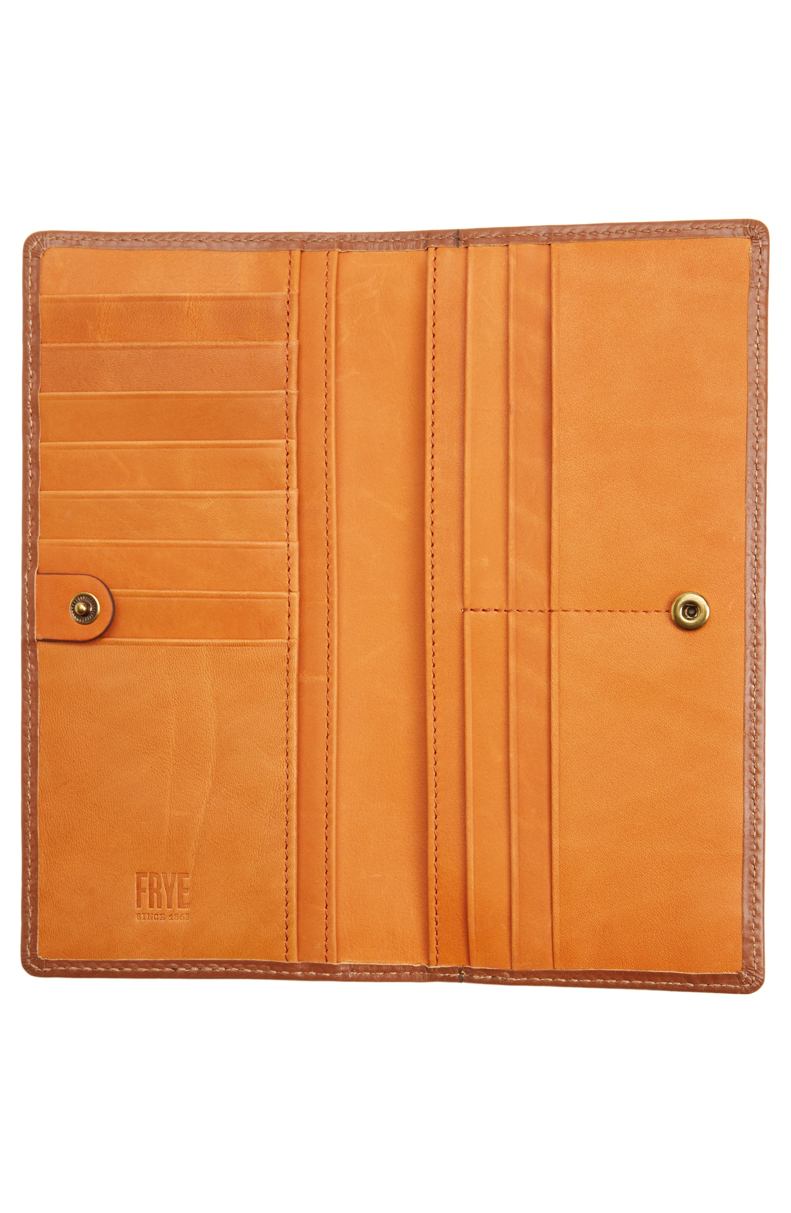 Alternate Image 2  - Frye Harness Leather Continental Wallet