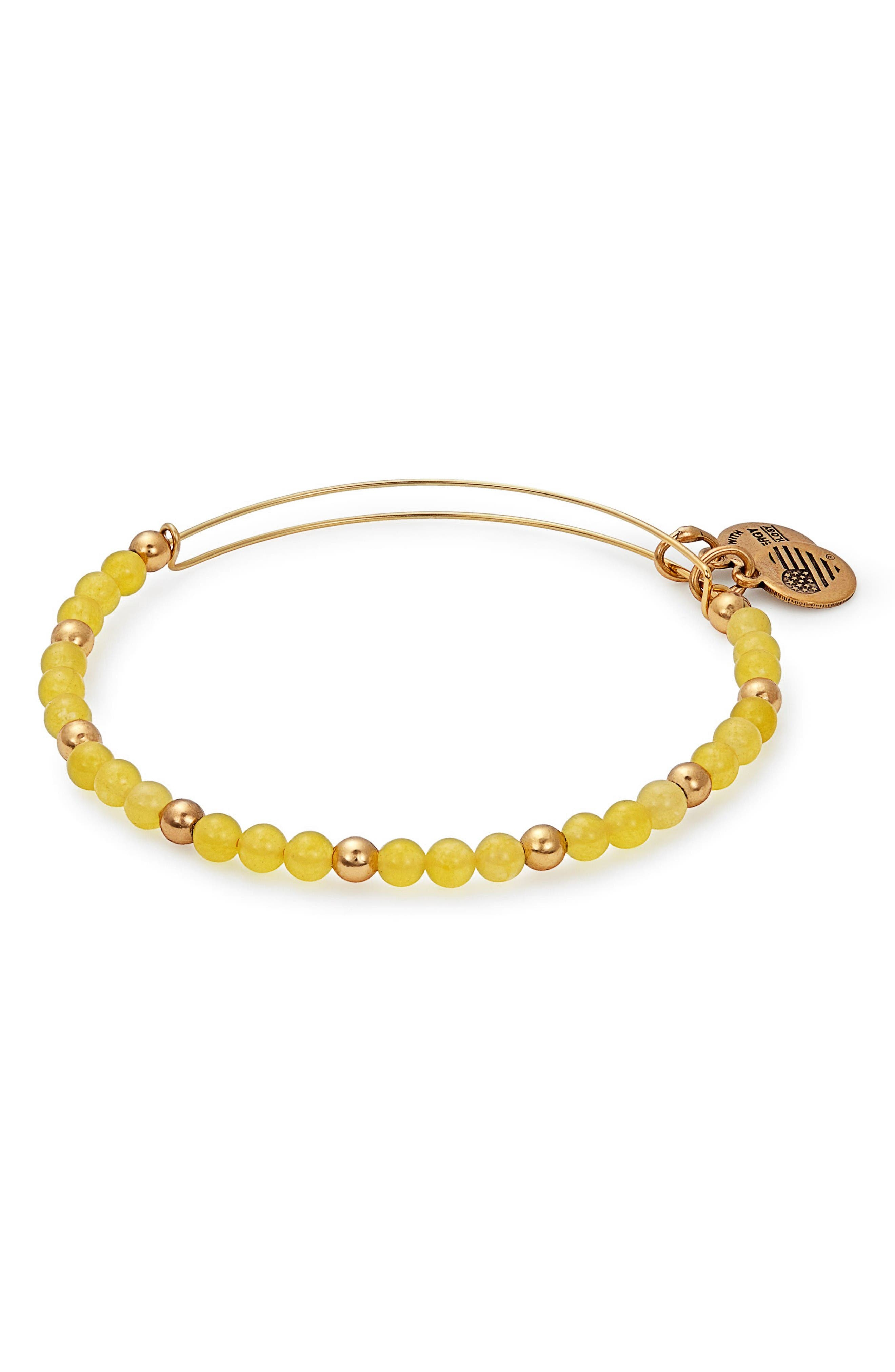 Main Image - Alex and Ani Color Classics Adjustable Beaded Bangle
