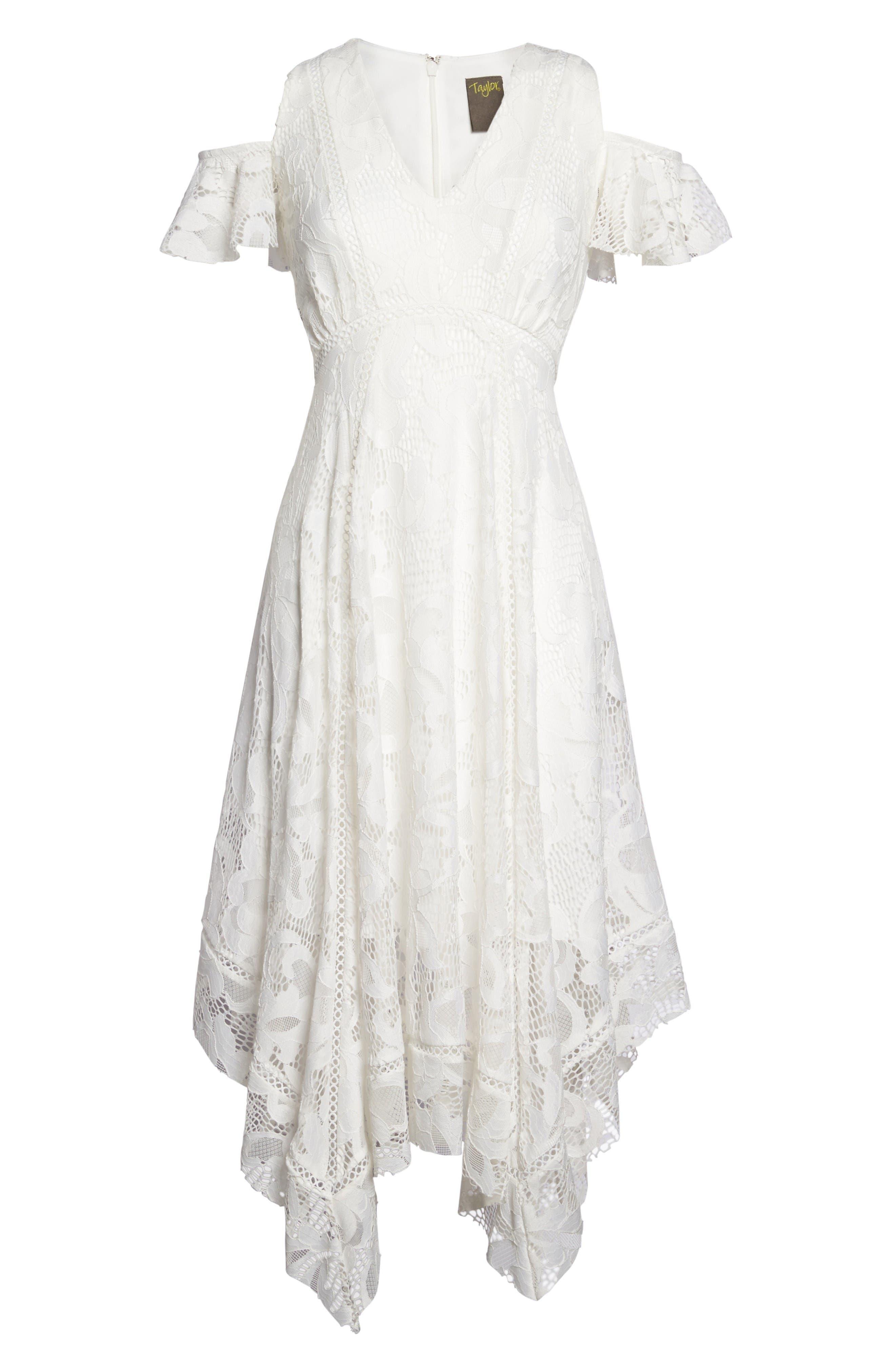 Alternate Image 6  - Taylor Dresses Alternative Midi Dress